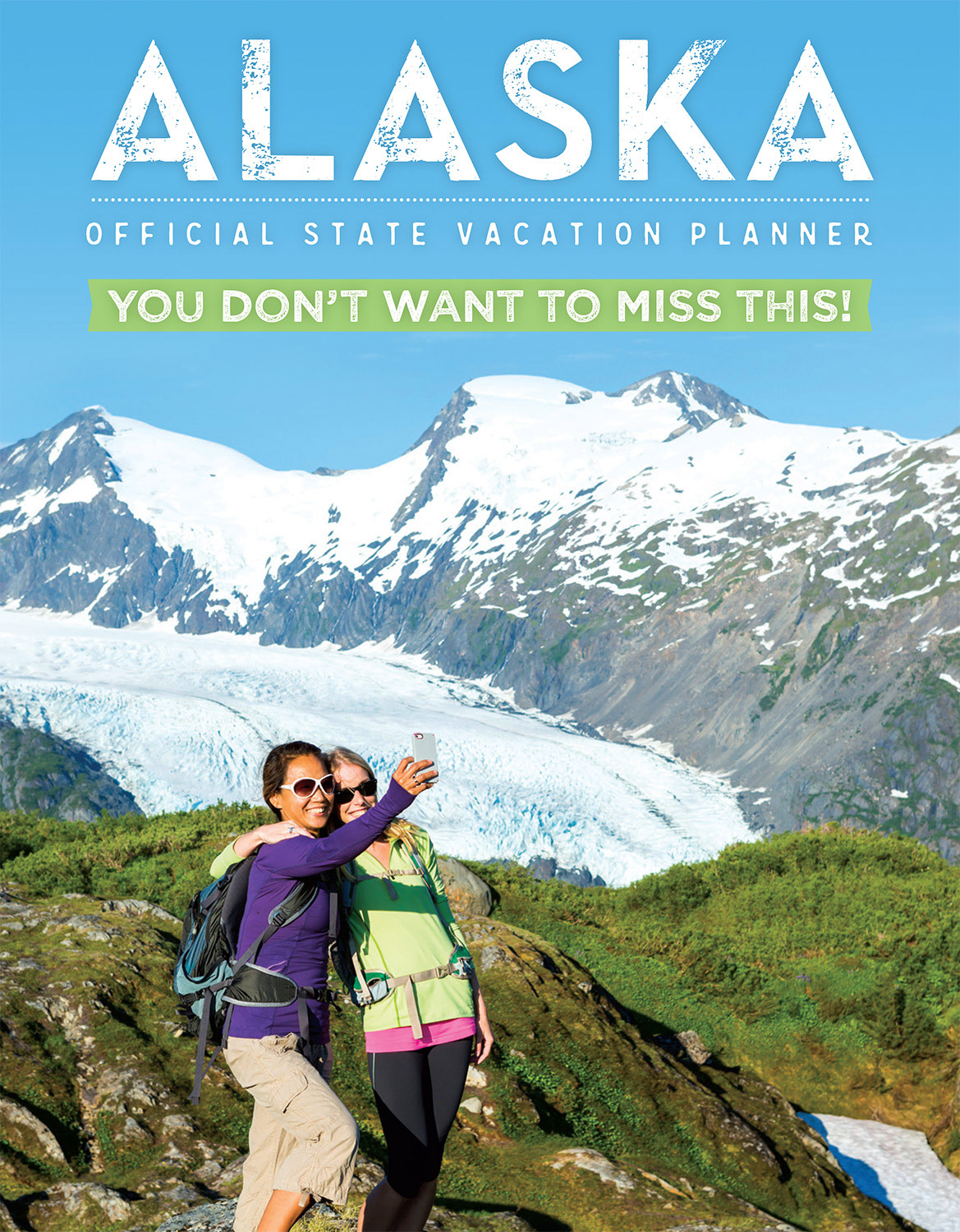 Travel Alaska State Vacation Planner 2017 Cover | Michael DeYoung