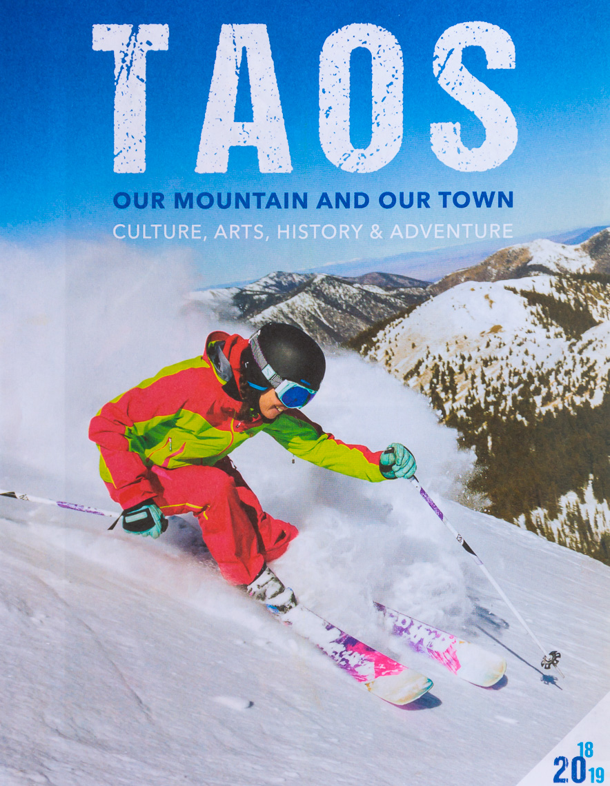Taos Ski Valley 2018 Visitor Guide Photographer M DeYoung