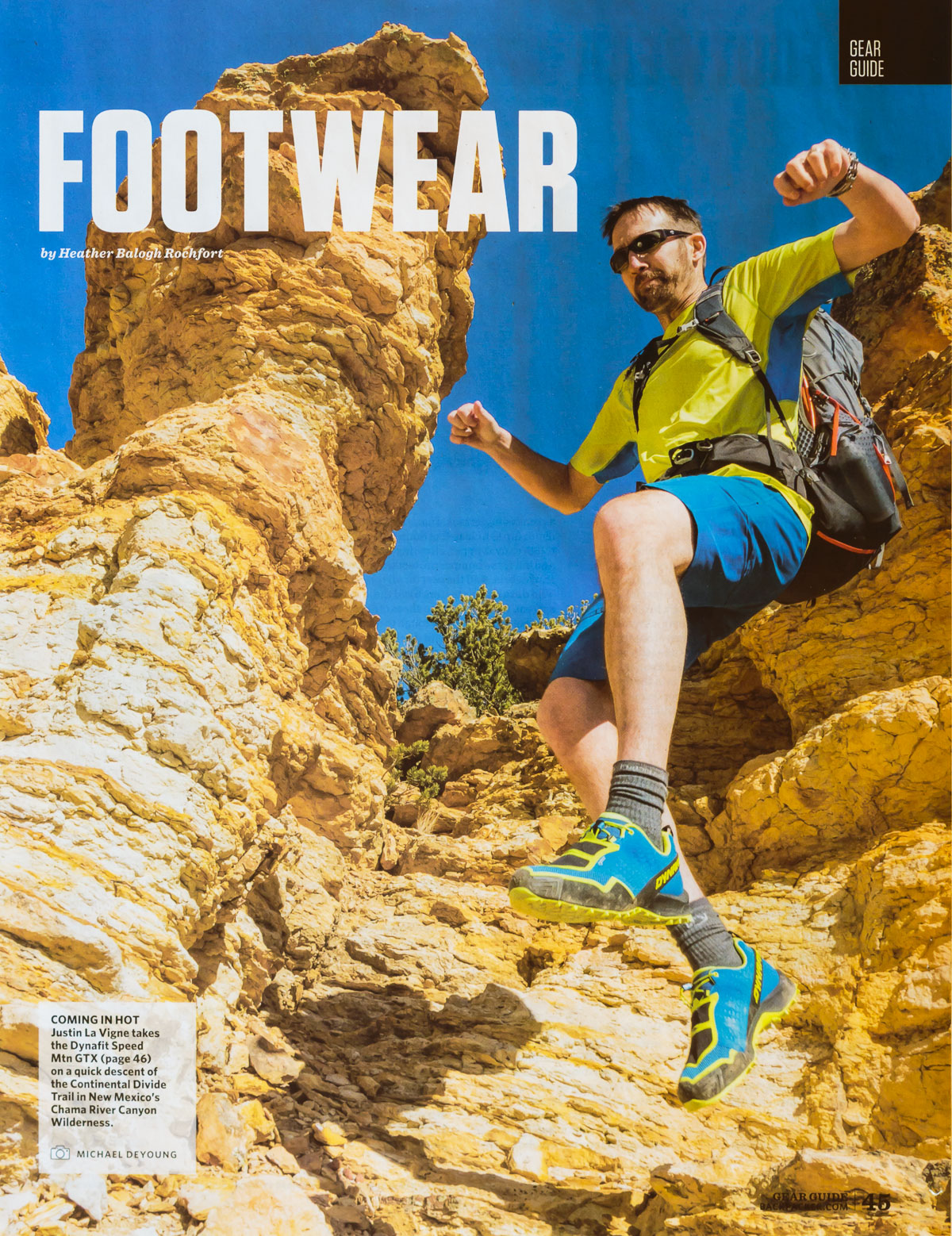 Backpacker Magazine Gear Guide April 2018 Michael DeYoung