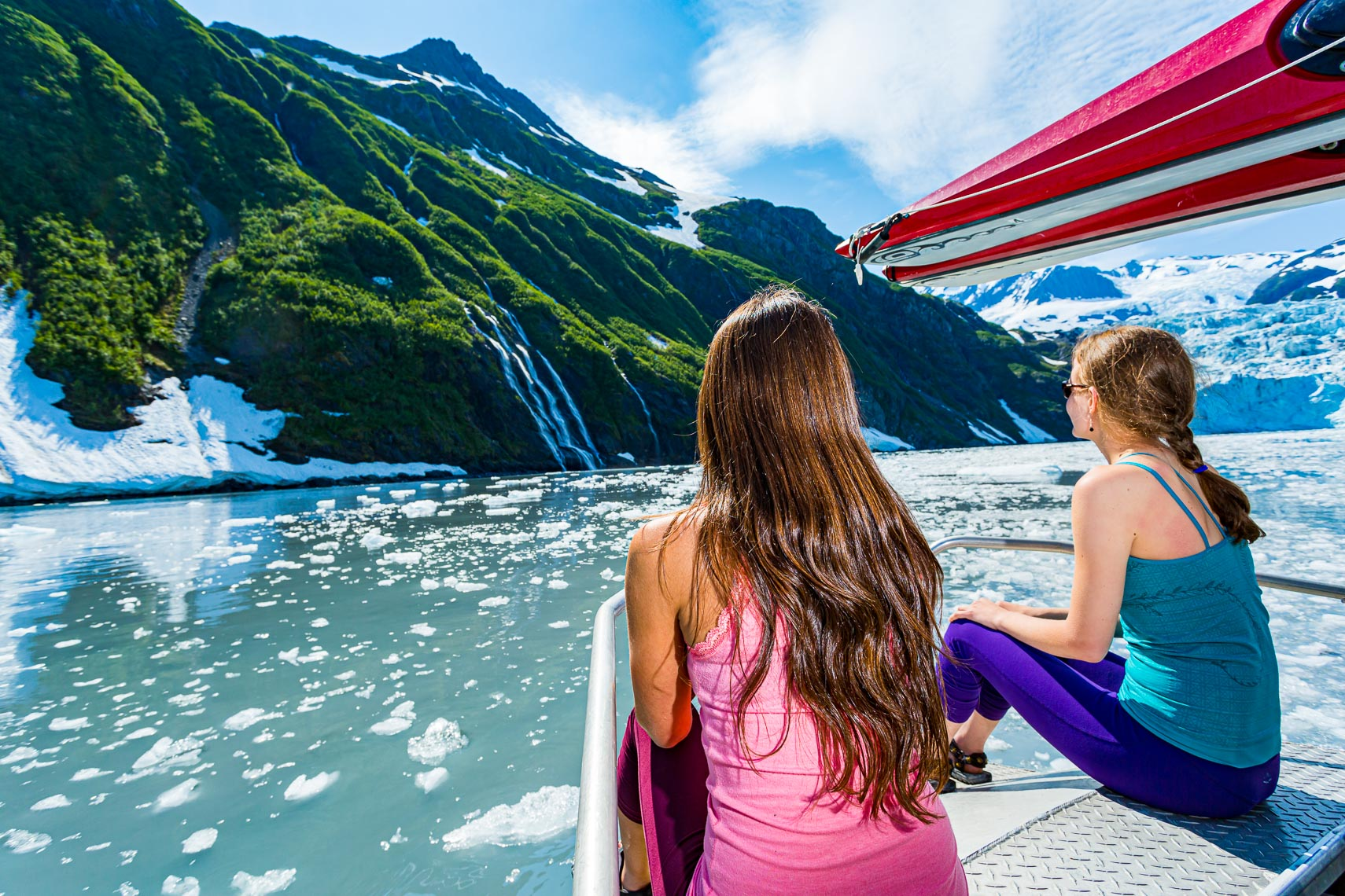 Alaska Travel Glacier Viewing Charter Boat | Michael DeYoung