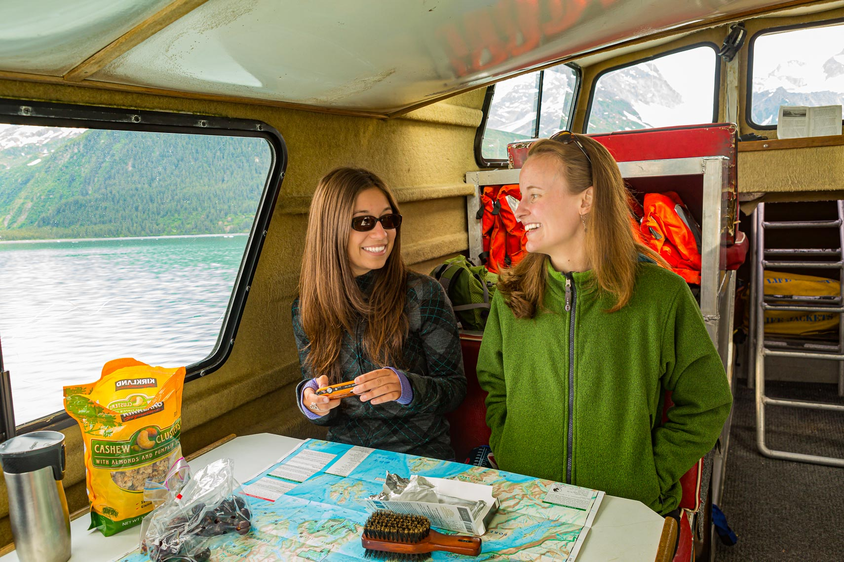 Alaska Travel Tourists on Charter Boat Tour | Michael DeYoung