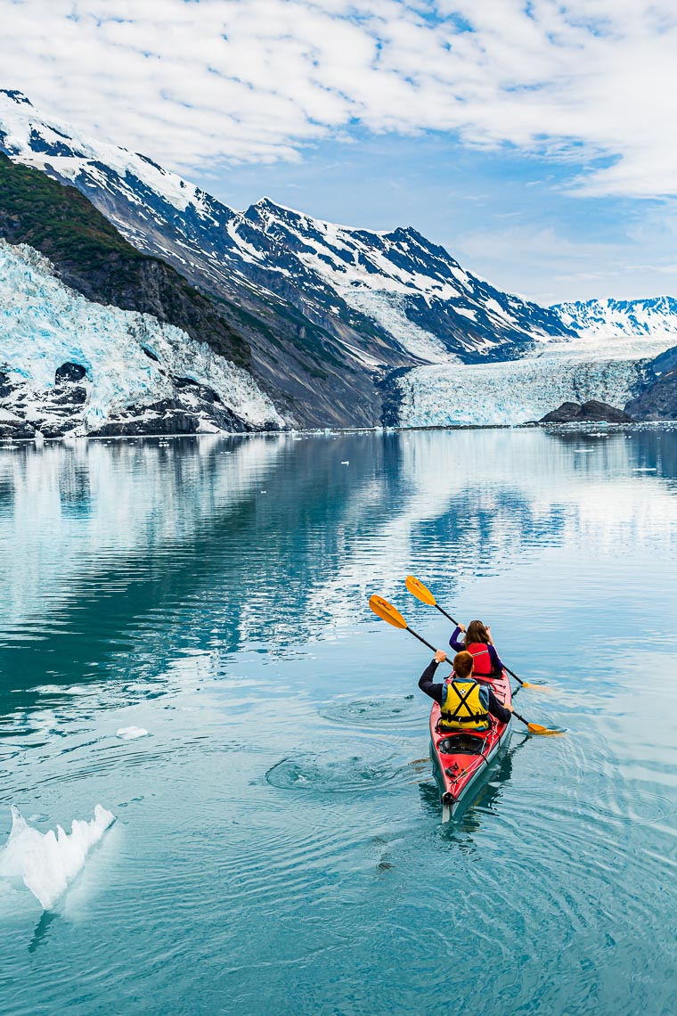 Alaska Travel Kayak Tour Barry Glacier | Michael DeYoung