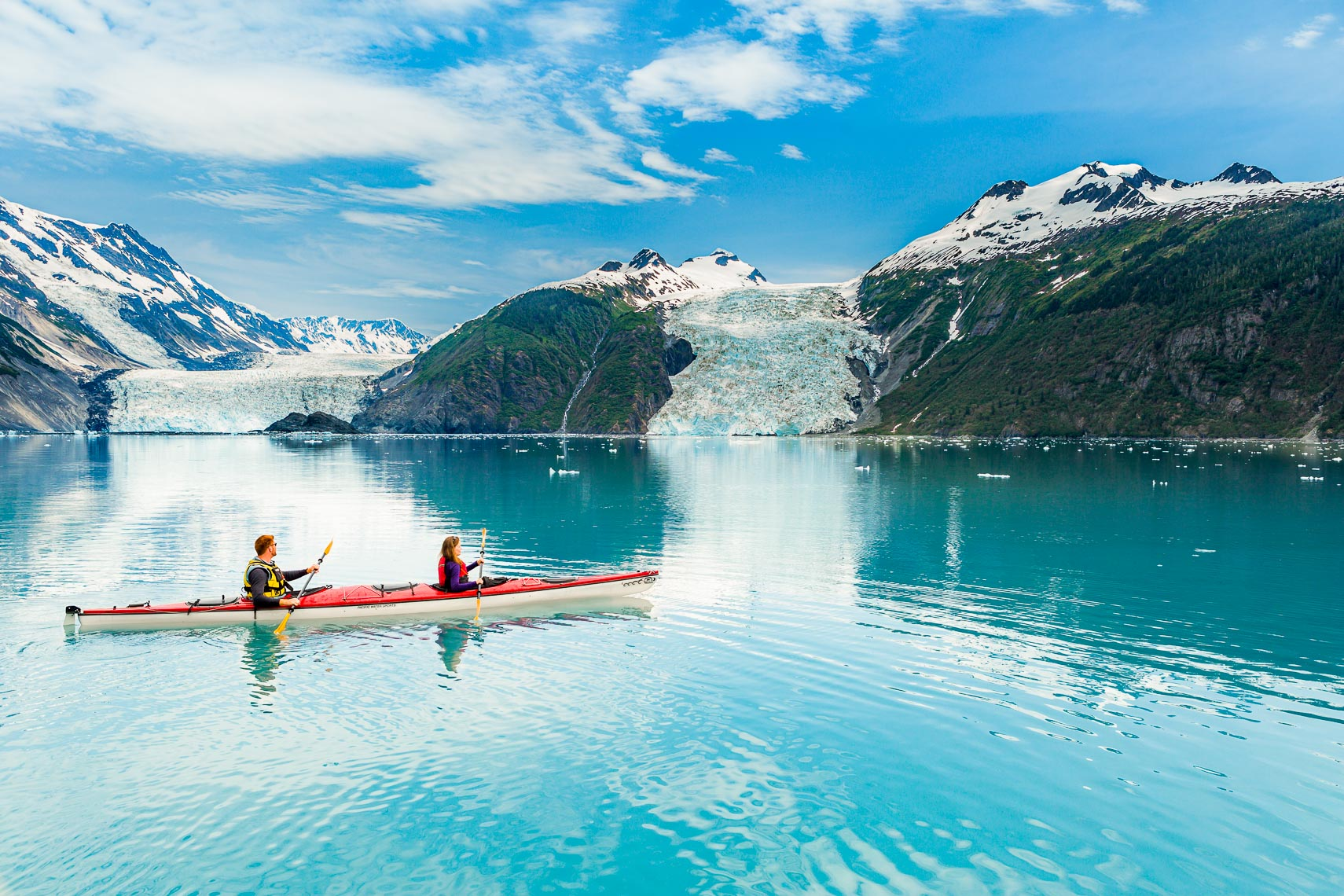 Alaska Travel Glaciers Sea Kayaking Tour | Michael DeYoung