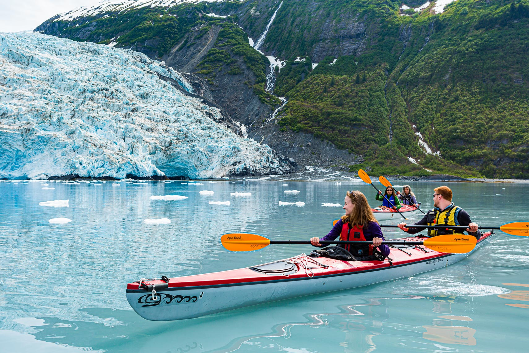 Alaska Travel Glacier Kayak Tour Harriman Fjord  | Michael DeYoung