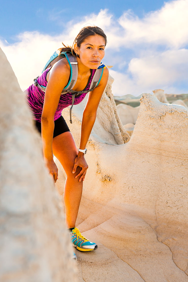 New Mexico Photographers Taos Lifestyle Runner Portrait