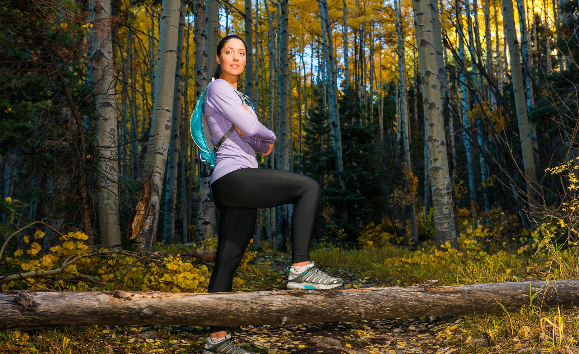 New Mexico Photographers Taos Trail Runner Portrait