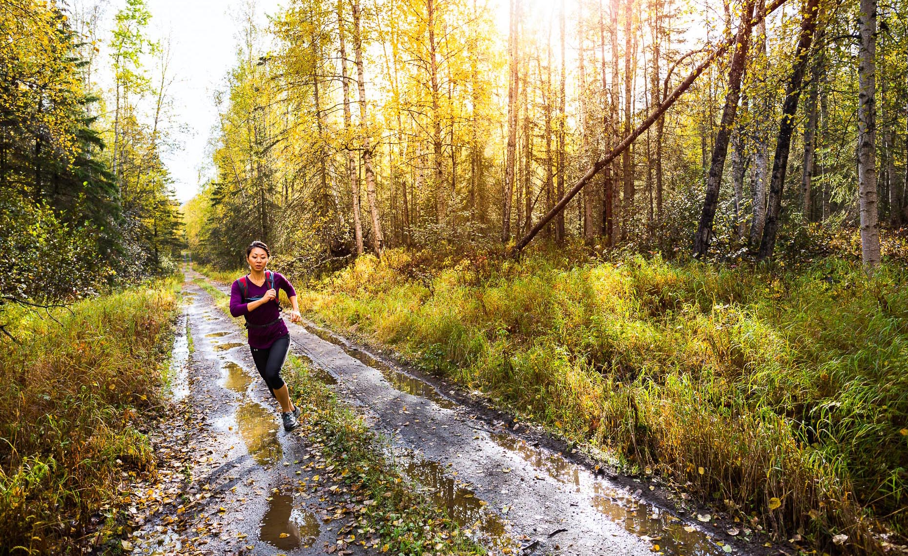 Alaska Photographers Anchorage Active Lifestyle Trail Runner