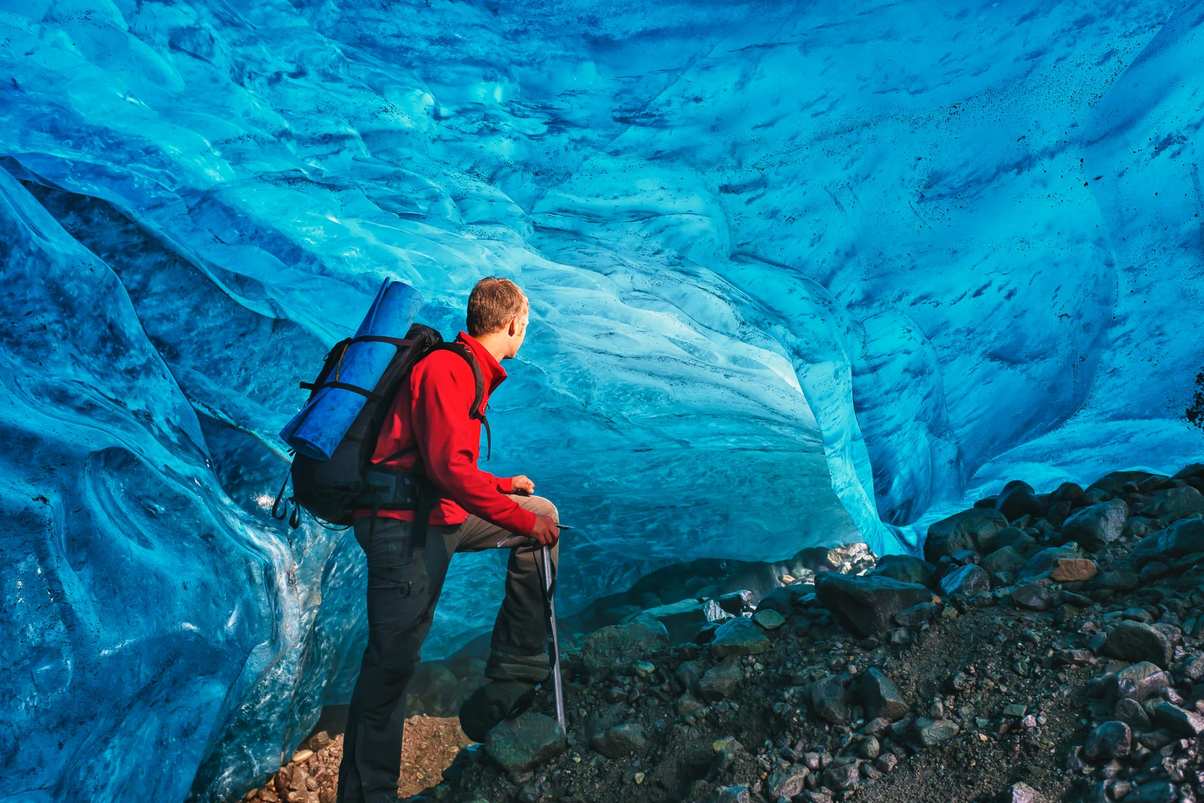 Guided Adventure Ice Cave Hike | Michael DeYoung