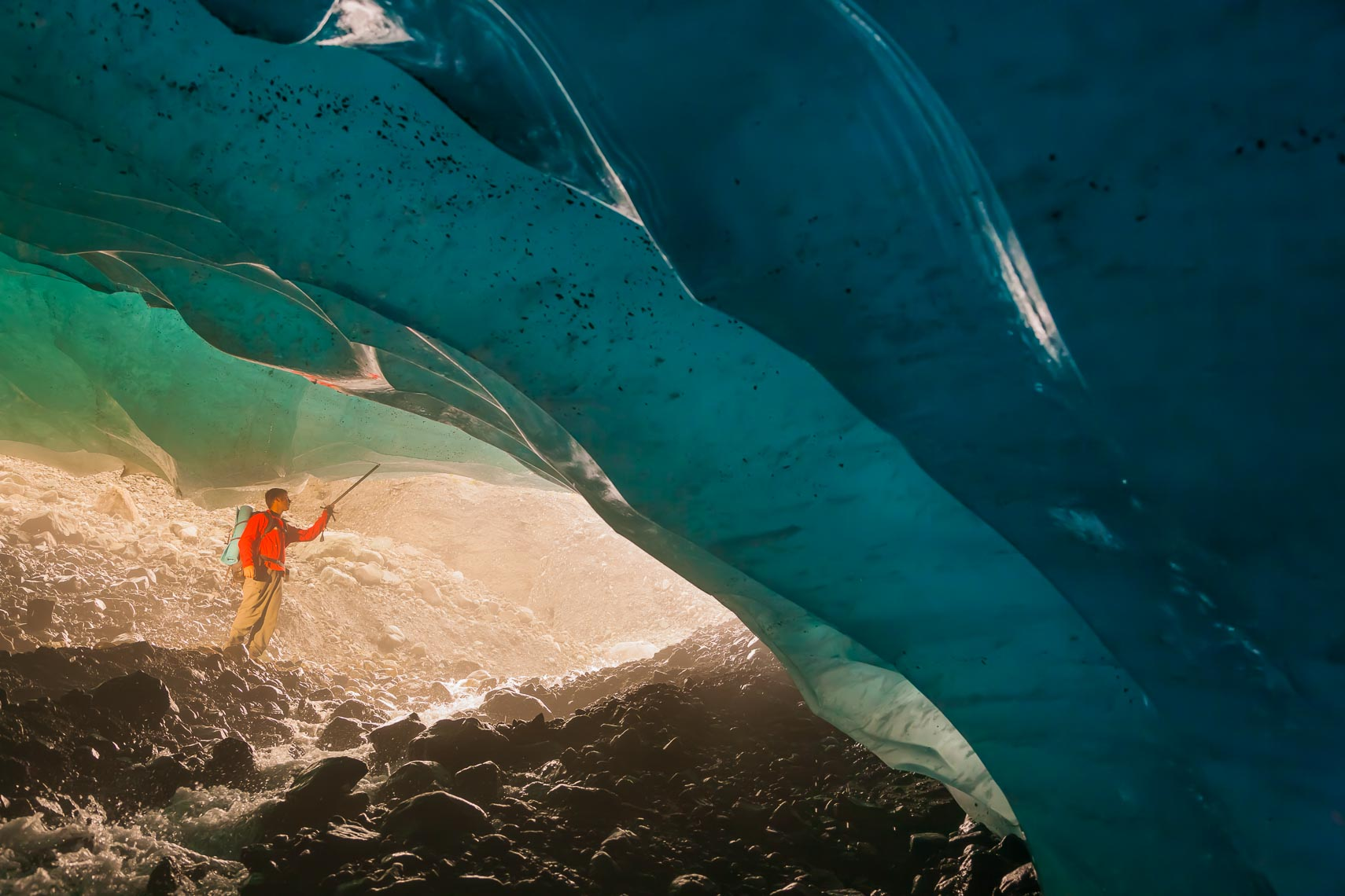 Explore Ice Caves Adventure Photography | Michael DeYoung