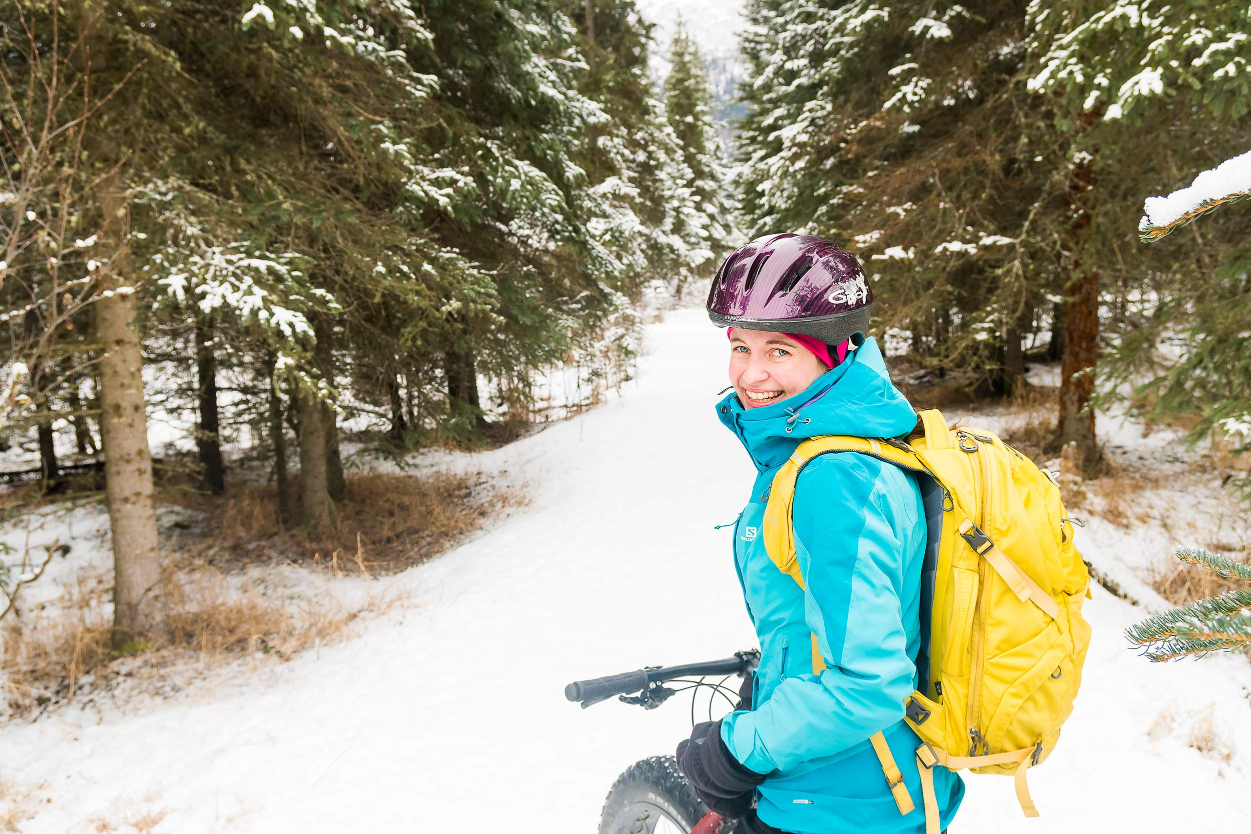 Taos New Mexico Photographer Michael DeYoung Alaska Fat Tire Bike