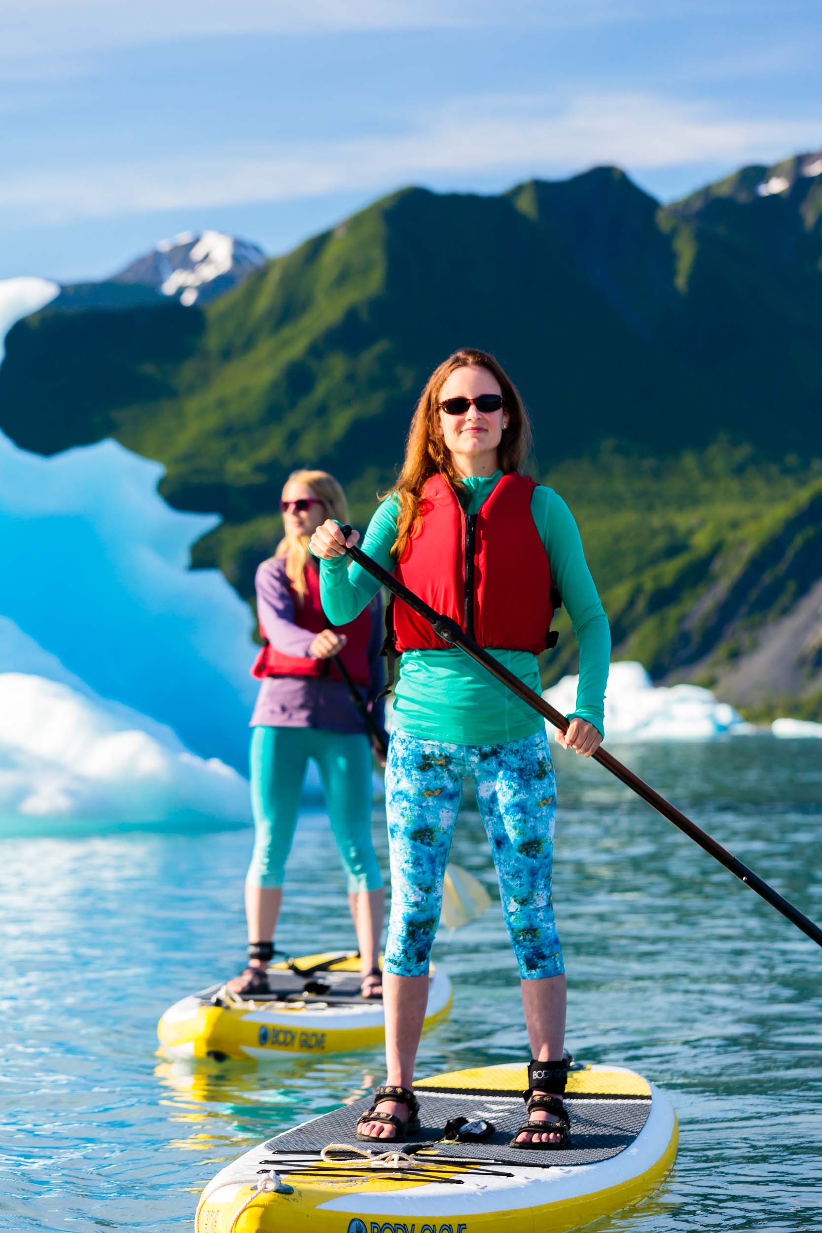 Alaska Outdoor Lifestyle Photographer Michael DeYoung Iceberg Paddle
