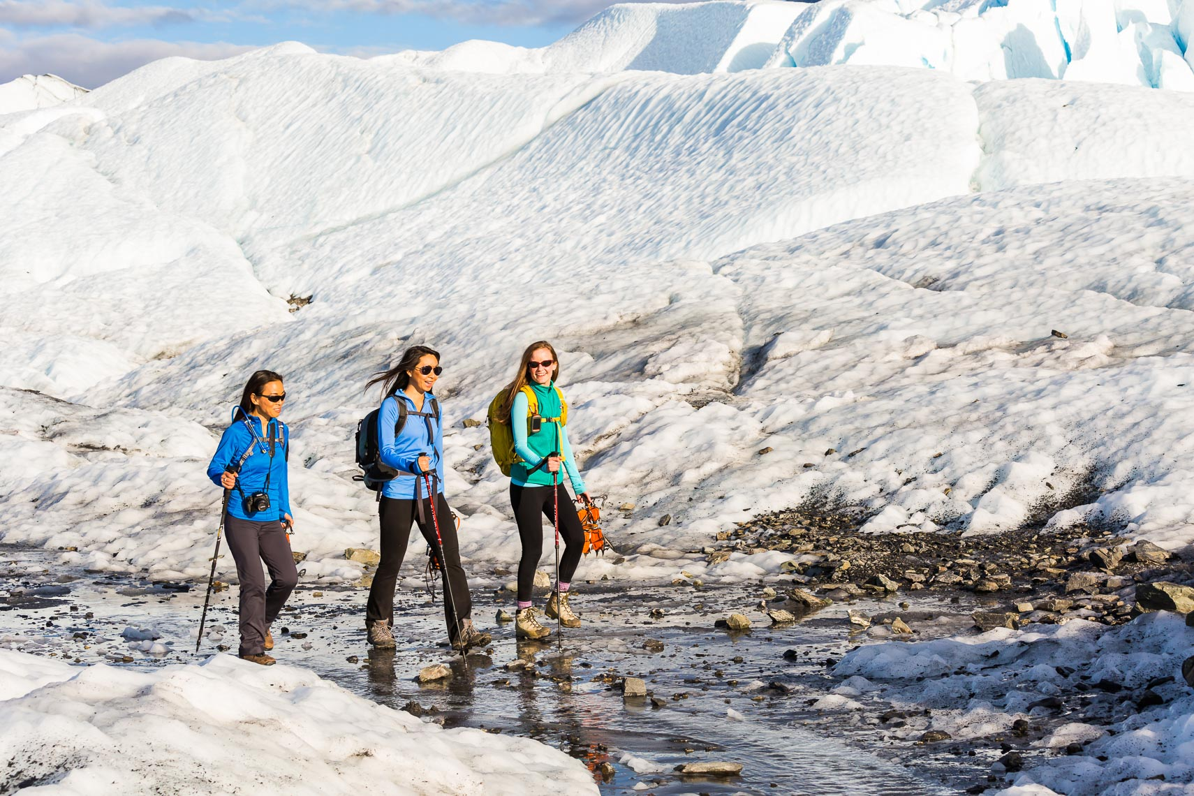Women Glacier Trek in Alaska | Michael DeYoung Photographer