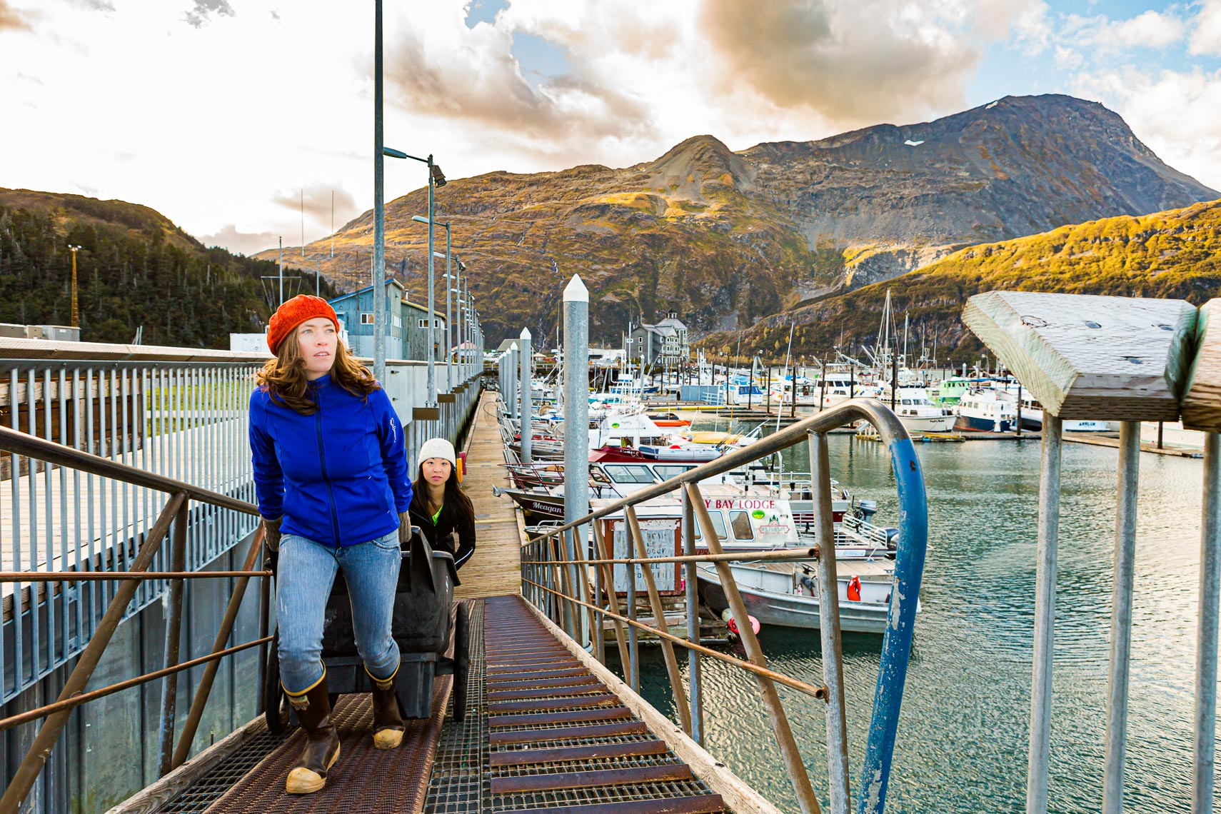 Alaska Travel Whittier Boat Harbor | Michael DeYoung