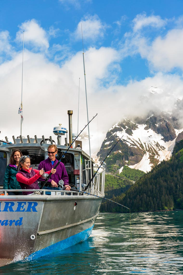Visit Seward Chartered Salmon Fish Trip | Michael DeYoung