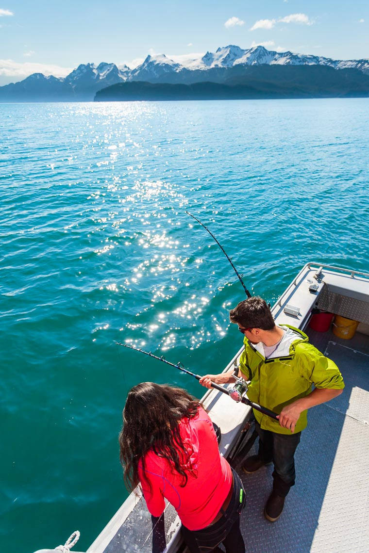 Chartered Salmon Fishing Trip Visit Seward | Michael DeYoung