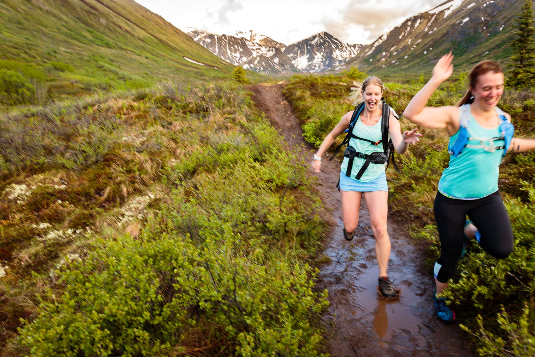 Alaska Adventure Muddy Trail Running | Michael DeYoung