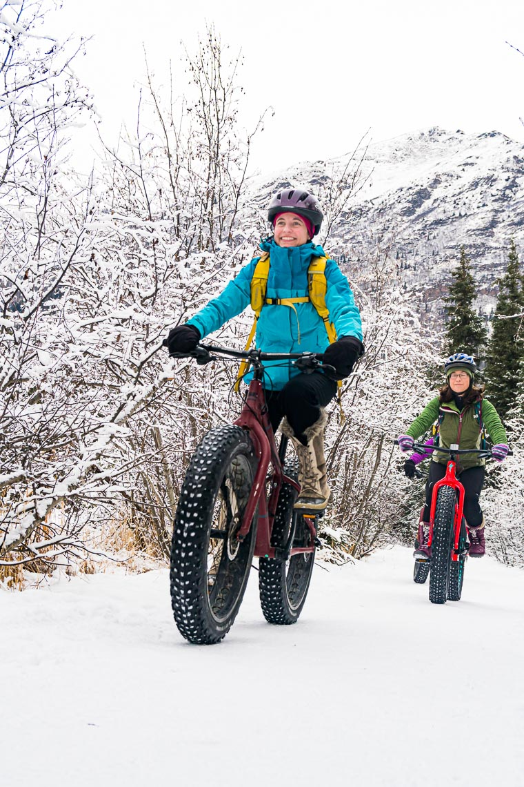 Winter Fat Tire Biking in Alaska | Photographer Michael DeYoung