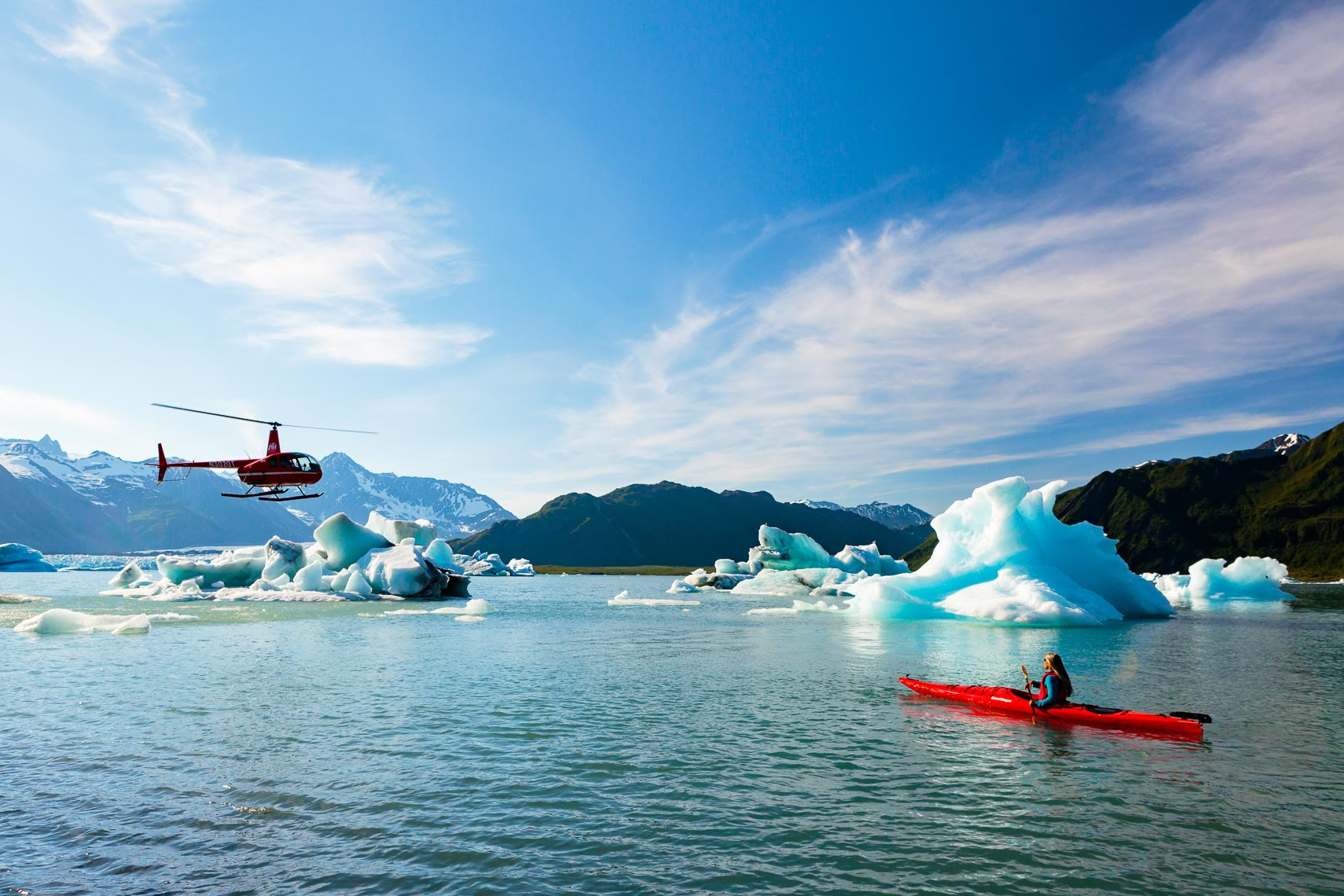 Alaska Adventure Travel Bear Glacier Lake | Michael DeYoung