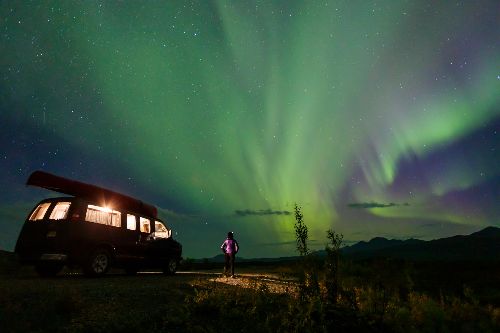 Alaska Travel Northern Lights Viewing | Michael DeYoung