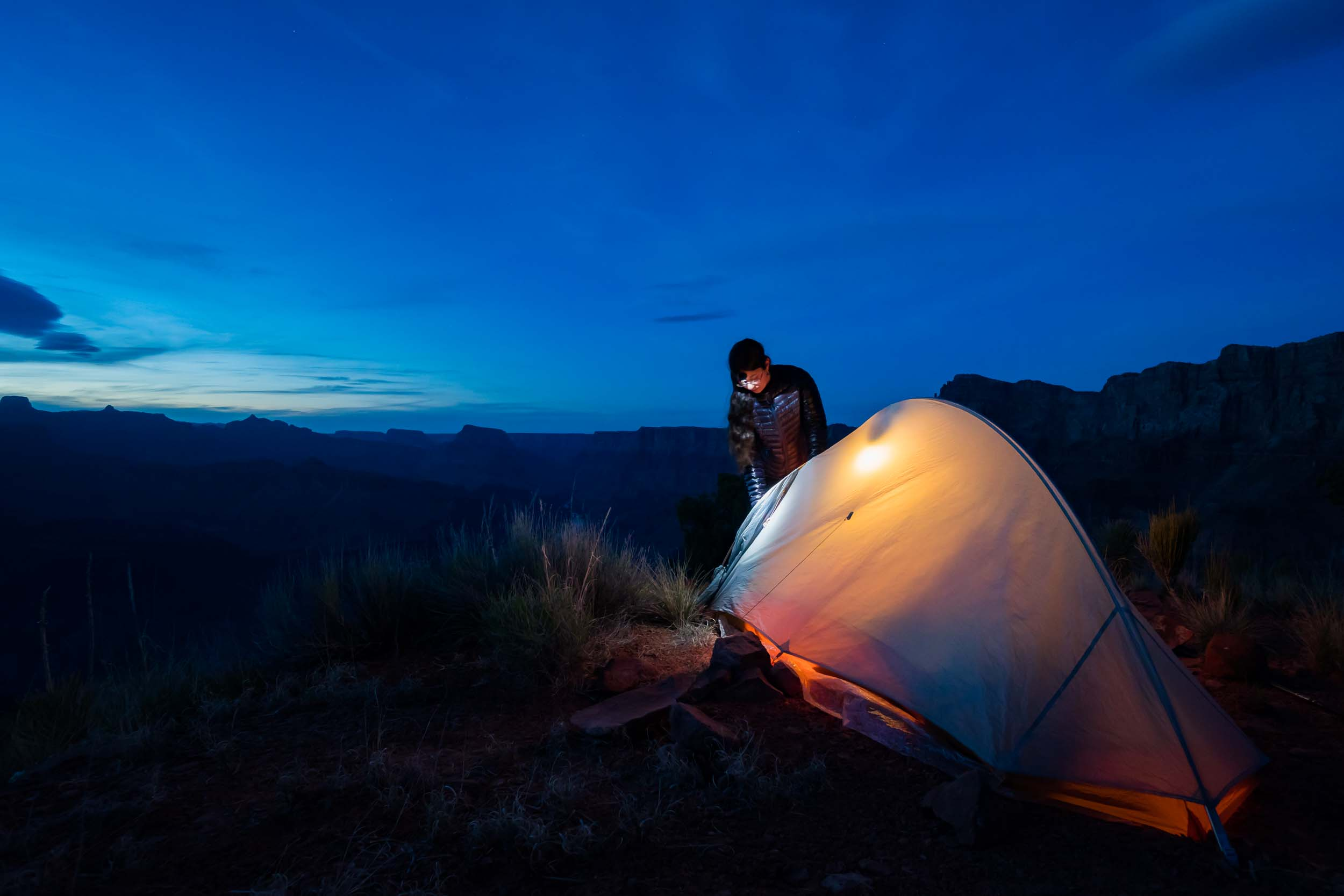 New Mexico Adventure Photographer Grand Canyon Night Camp