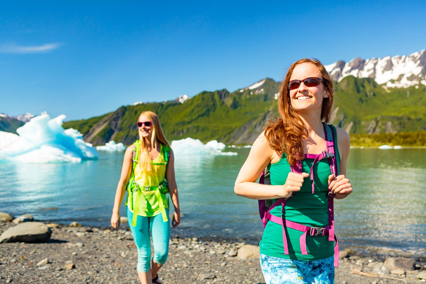 Alaska Travel Visitors Day Hike Glacier | Michael DeYoung