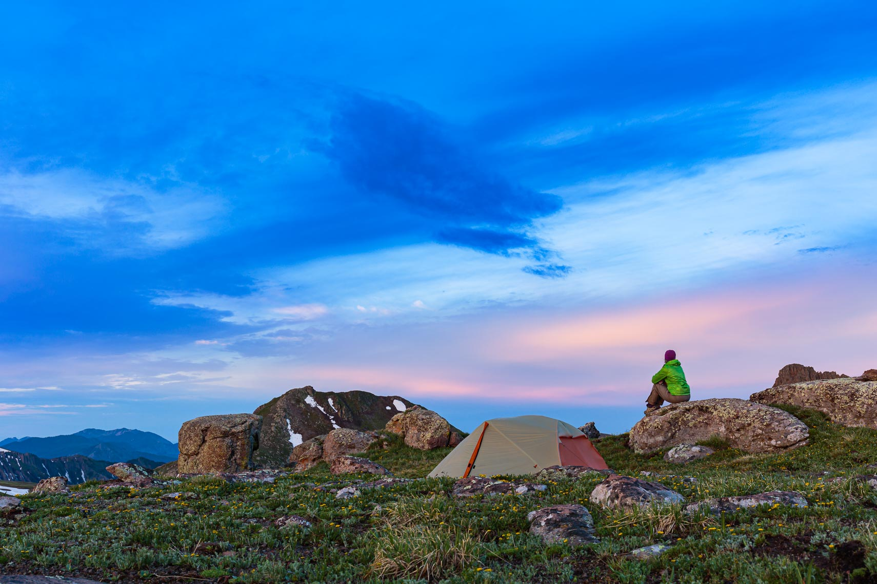 Adventure Photographer Stormy Camp | Michael DeYoung