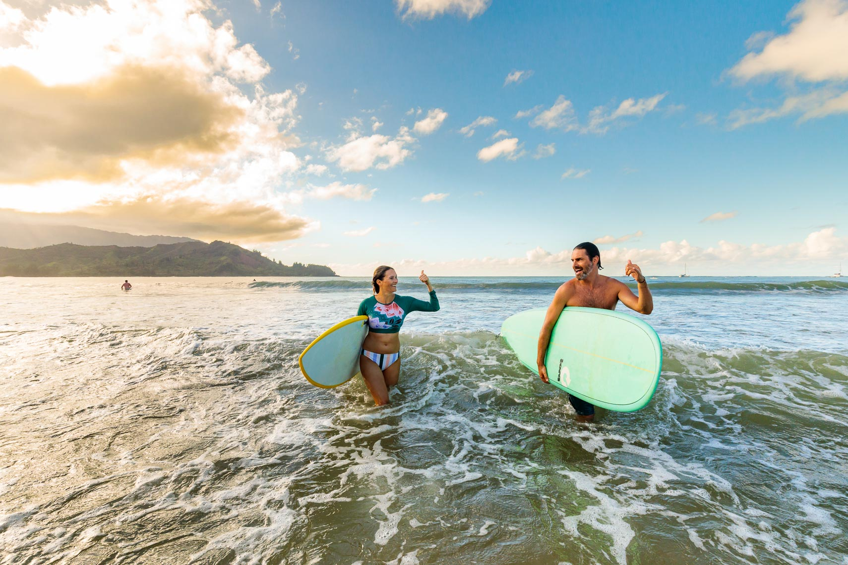 Norwegian Cruise Line Hawaii Shoot Couple Surf | Michael DeYoung