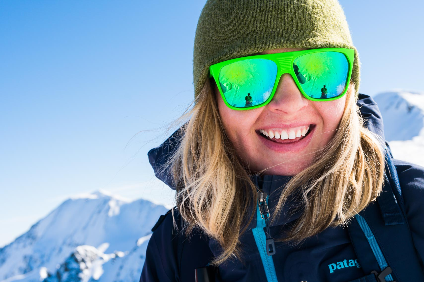 Environmental Portrait Woman Skier | New Mexico Michael DeYoung