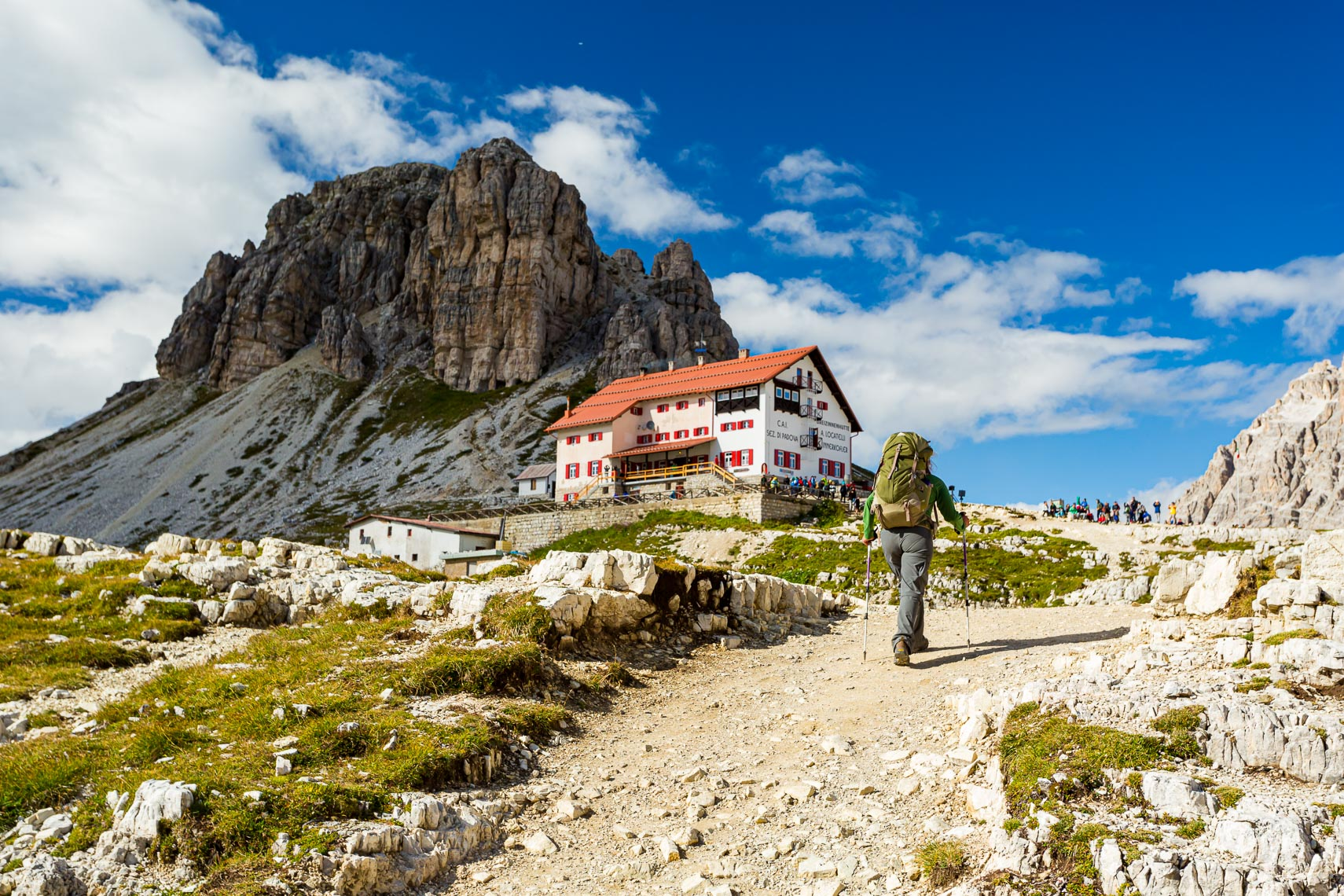 Hiking Adventure Italian Alpine Hut | Michael DeYoung