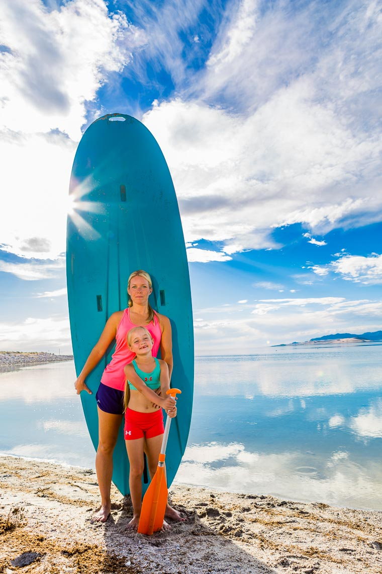 Environmental Portrait Mom & Daughter SUP | Michael DeYoung