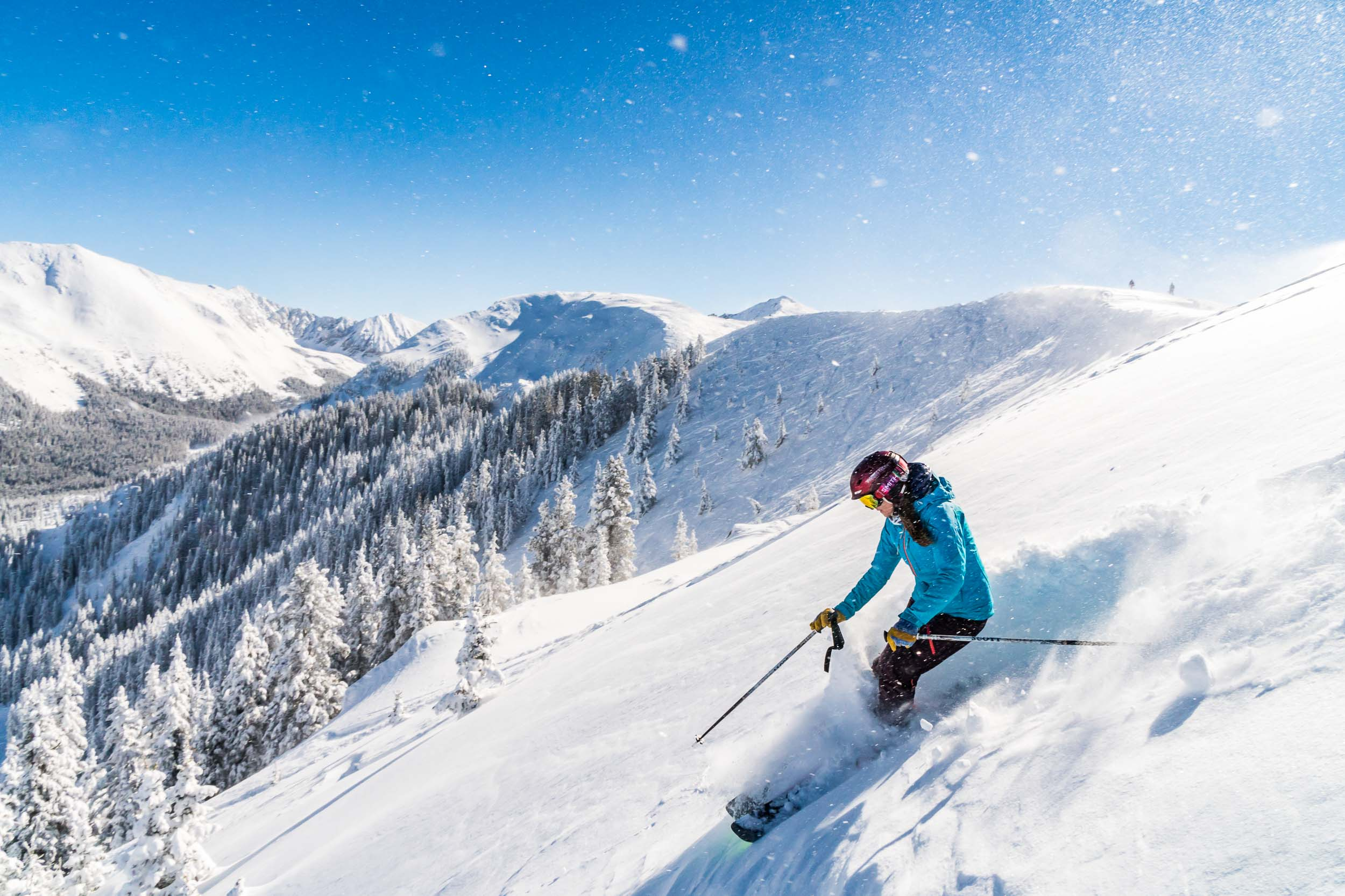 Taos New Mexico Photographers Michael DeYoung Powder Ski