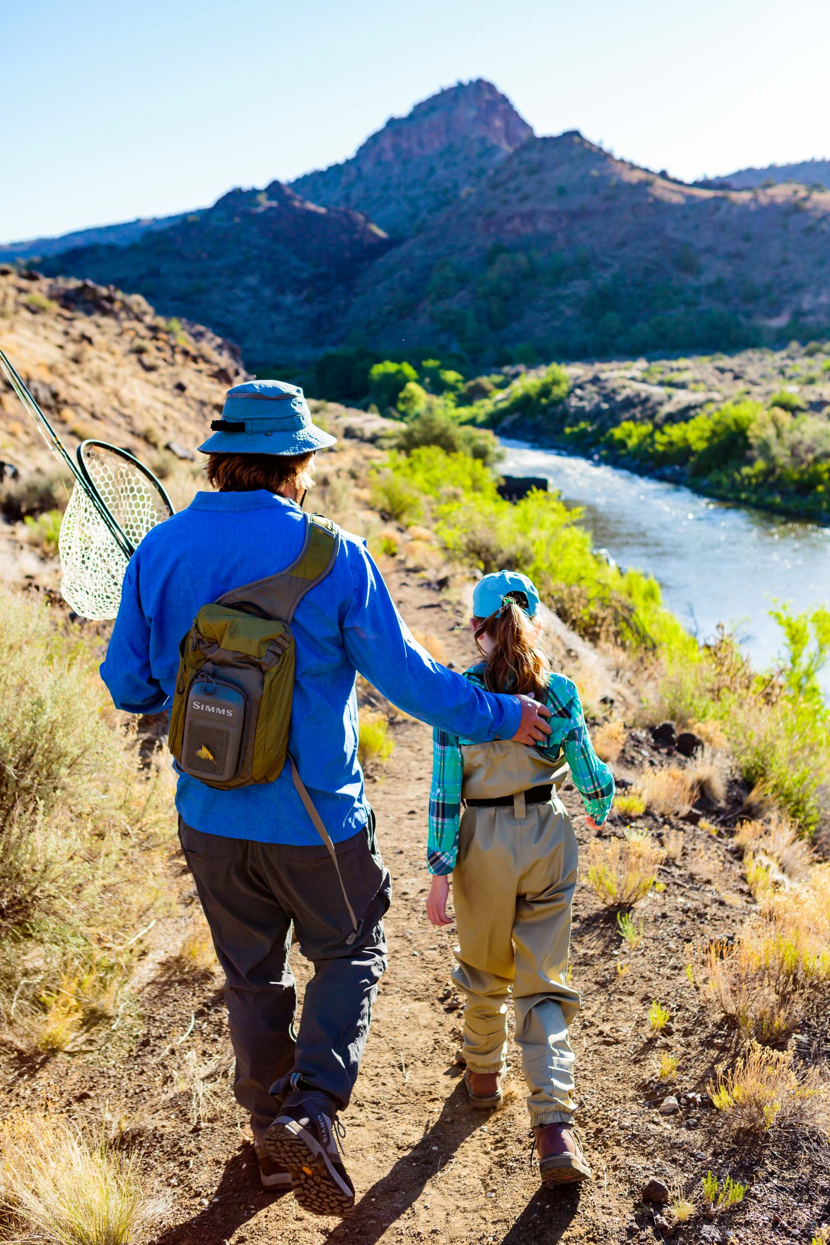 Taos New Mexico Photographers Michael DeYoung Family Fly Fishing