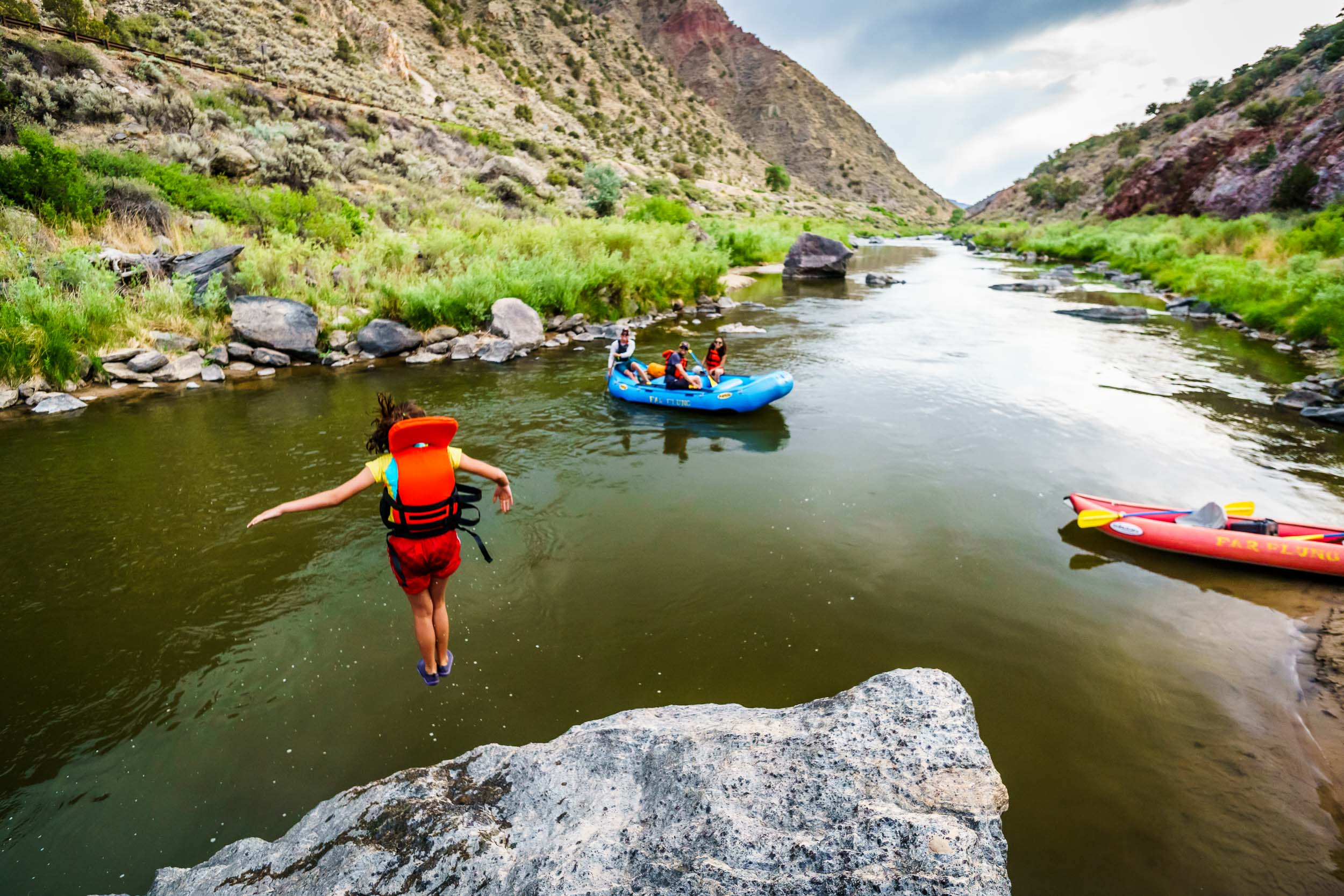 Taos New Mexico Photographers Michael DeYoung Raft Rio Grande