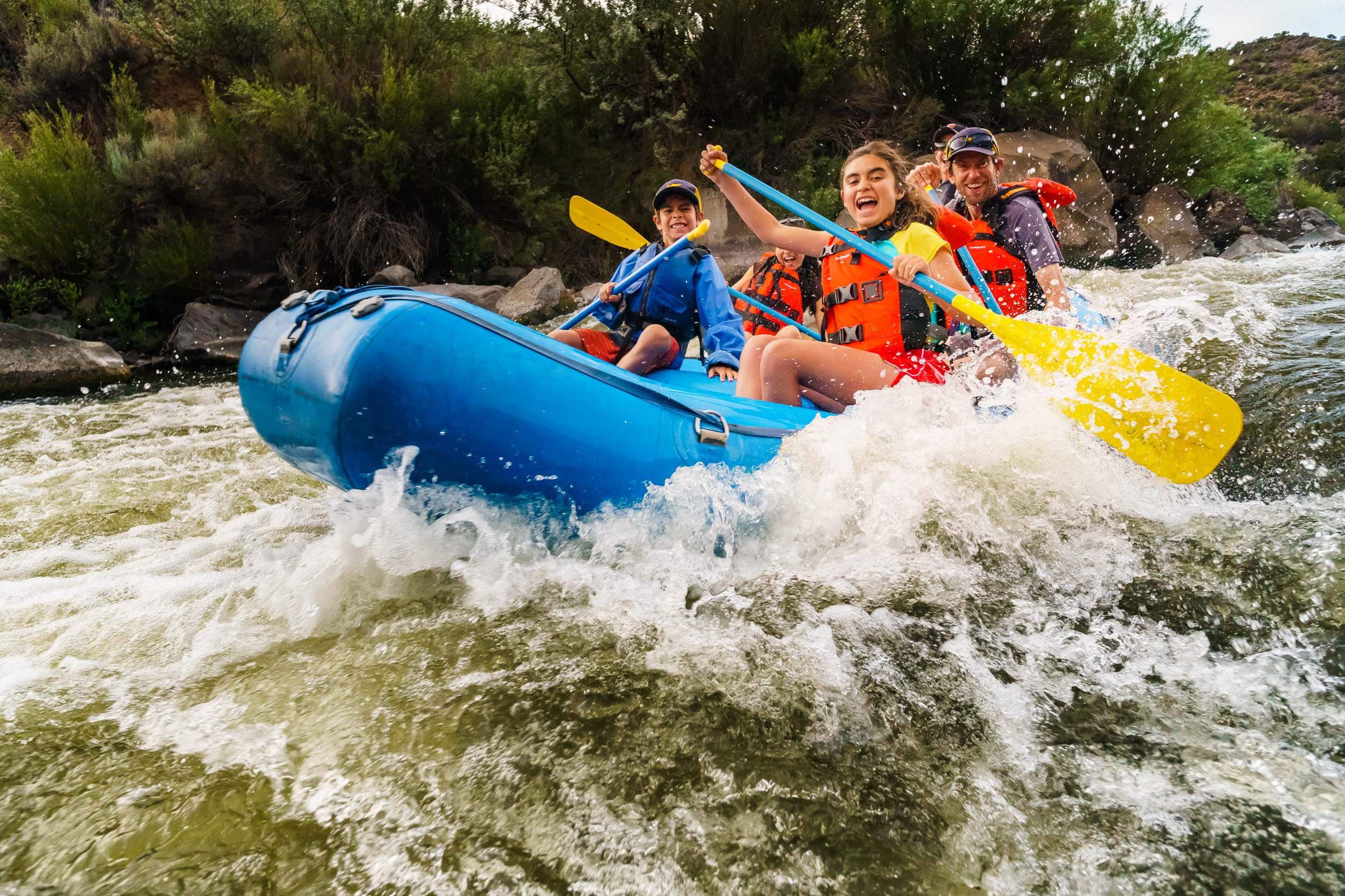 Taos New Mexico Photographer Michael DeYoung Rafting Fun