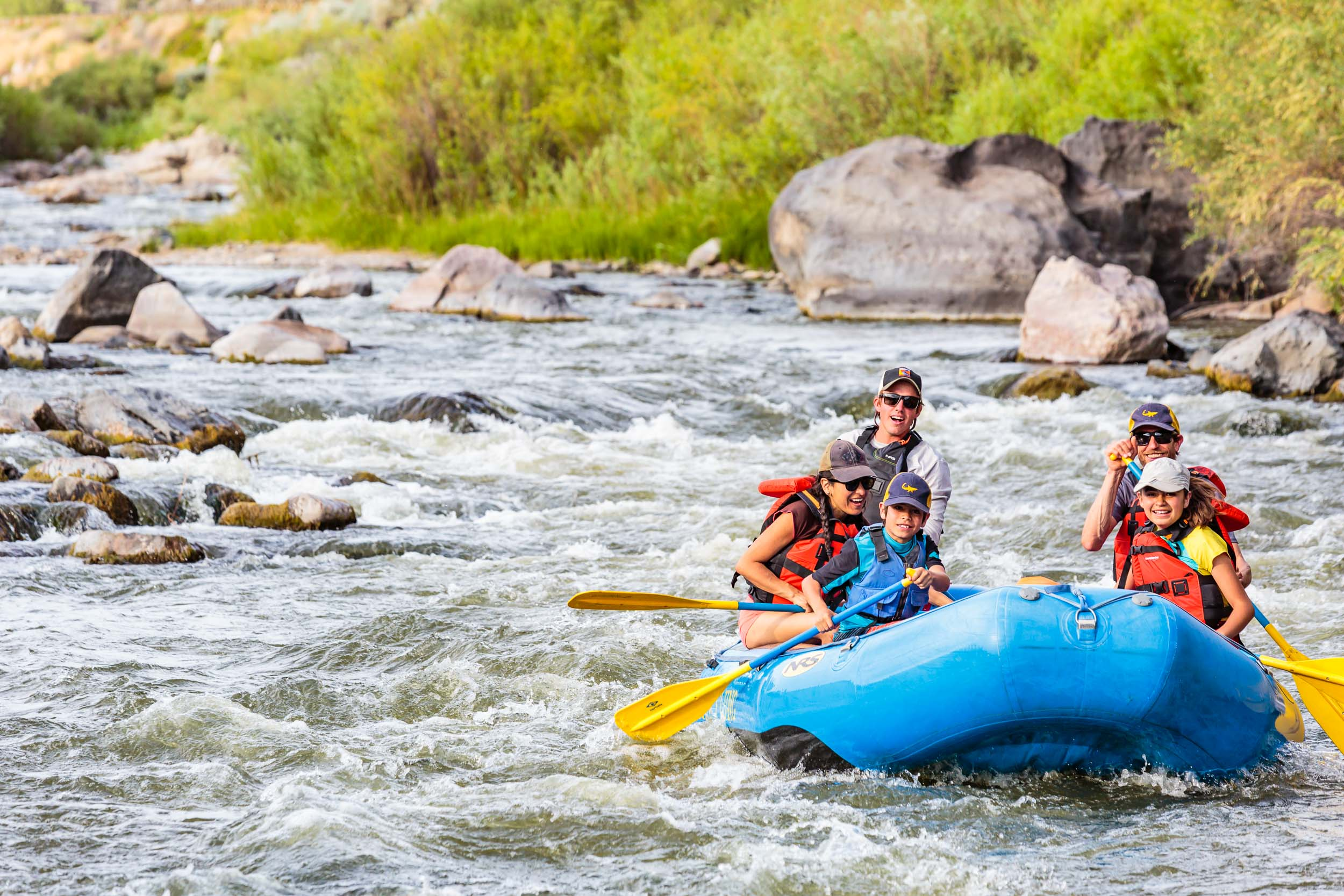 Taos New Mexico Tourism Photographer Michael DeYoung Rafting