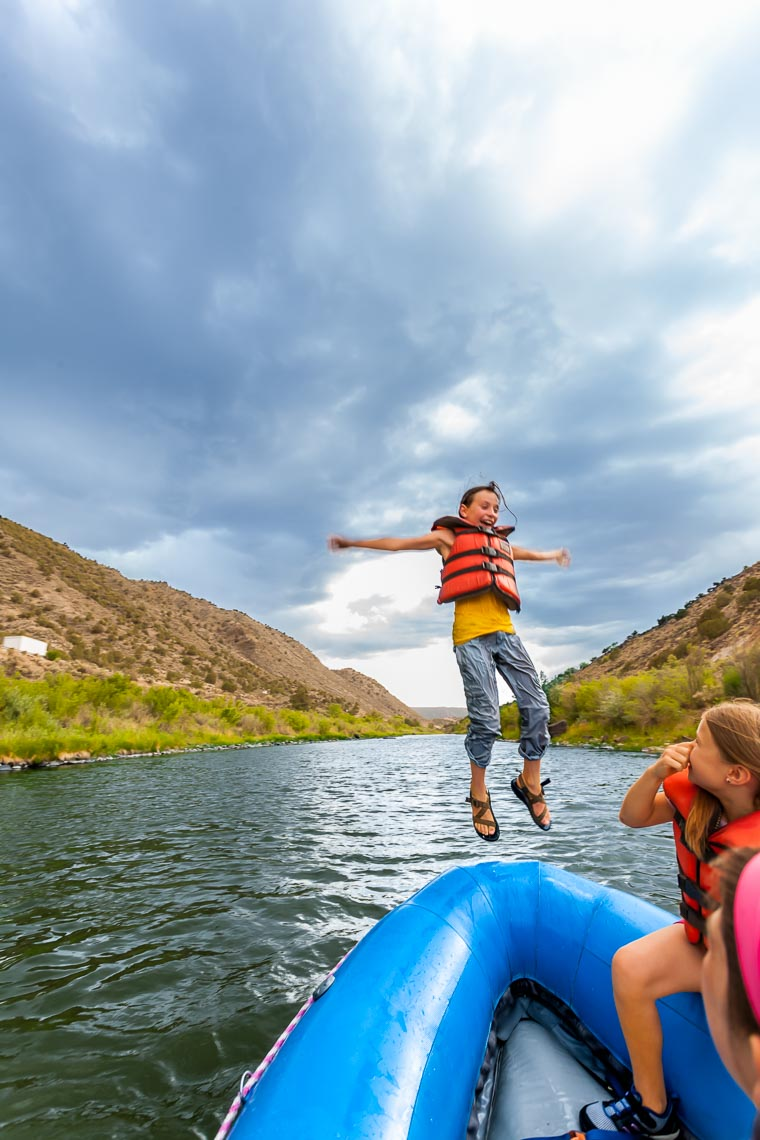 Rafting Mild Section of Rio Grande Near Taos | Michael DeYoung