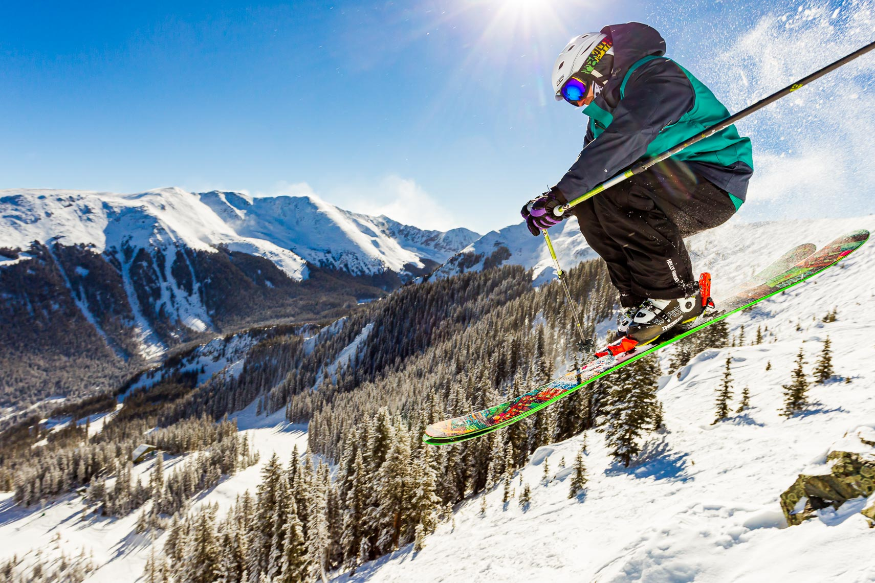 New Mexico Skier | Photographer Michael DeYoung
