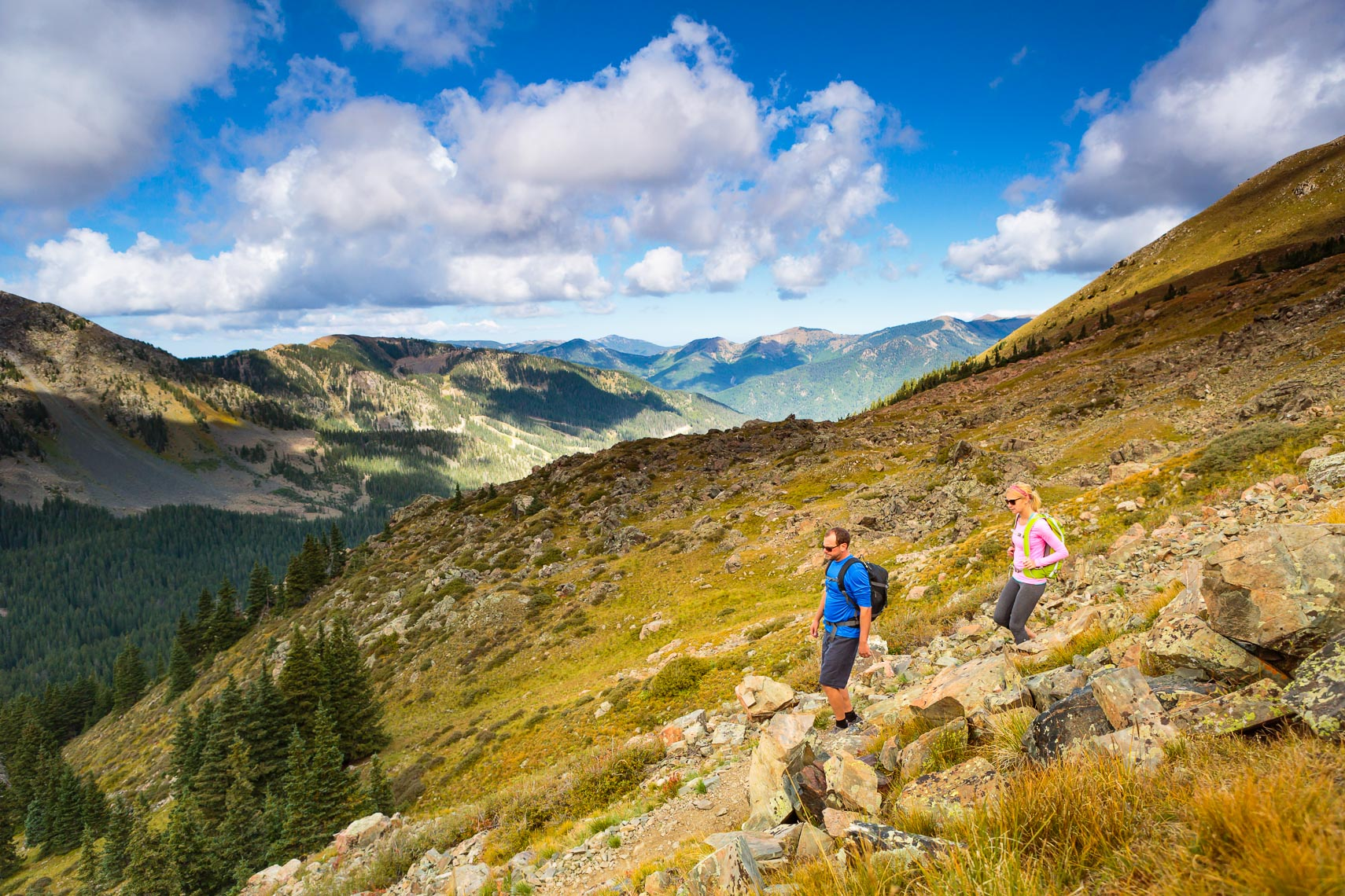 Wheeler Peak Trail New Mexico | Photographer Michael DeYoung