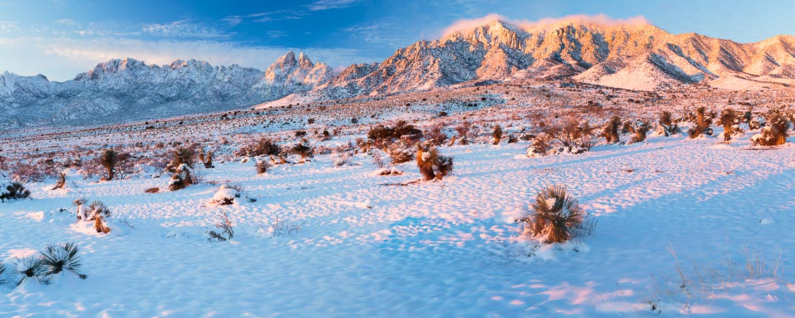 Organ Mountain Winter Landscape New Mexico Michael DeYoung