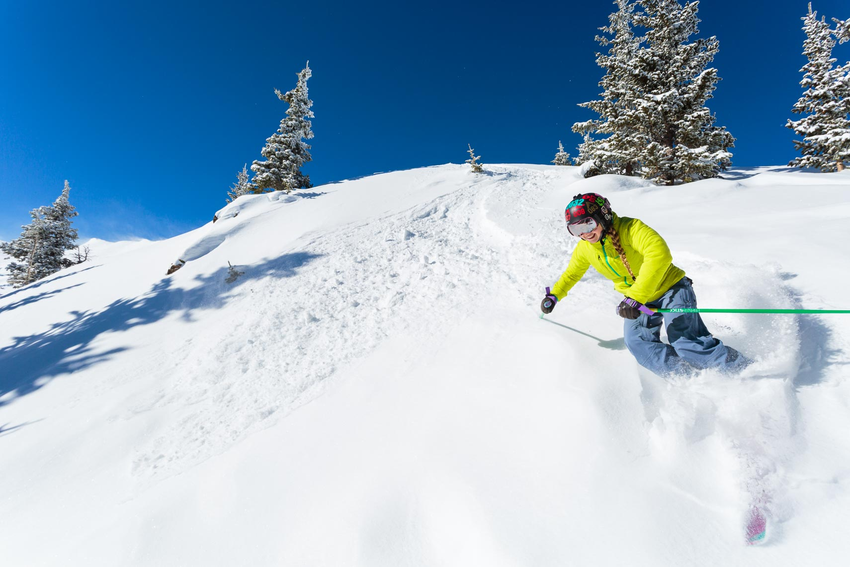 Skiing Powder Taos Ski Valley NM | Michael DeYoung