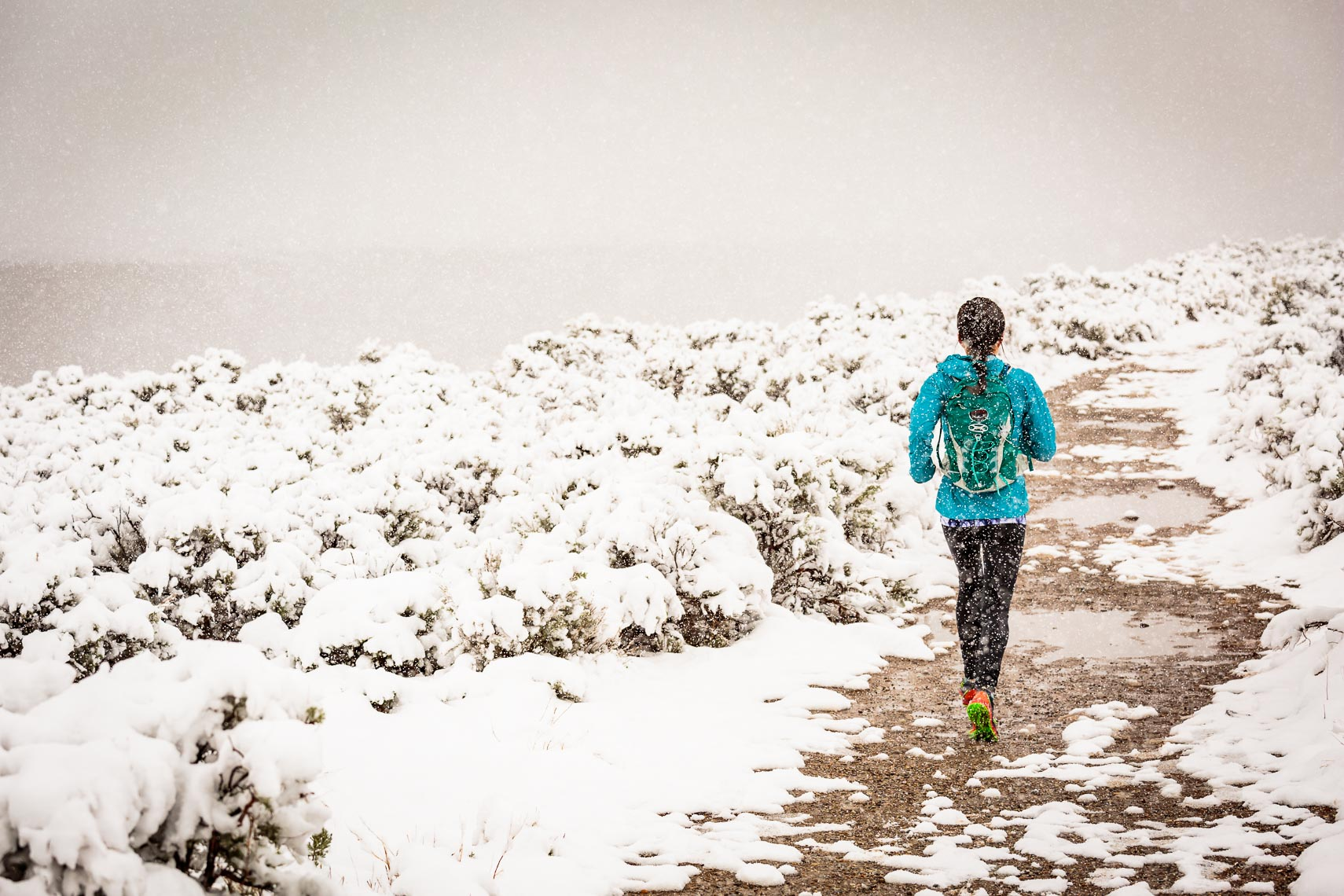 New Mexico Snow Trail Run | Michael DeYoung