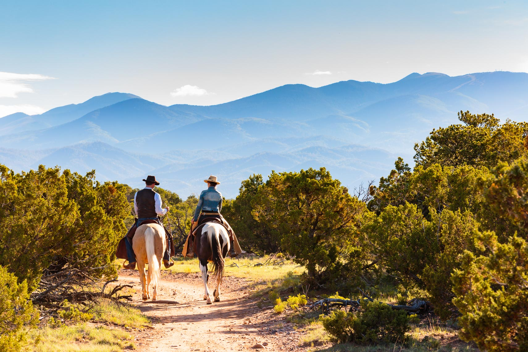 Horse Riding La Tierra Trail Santa Fe NM | Michael DeYoung