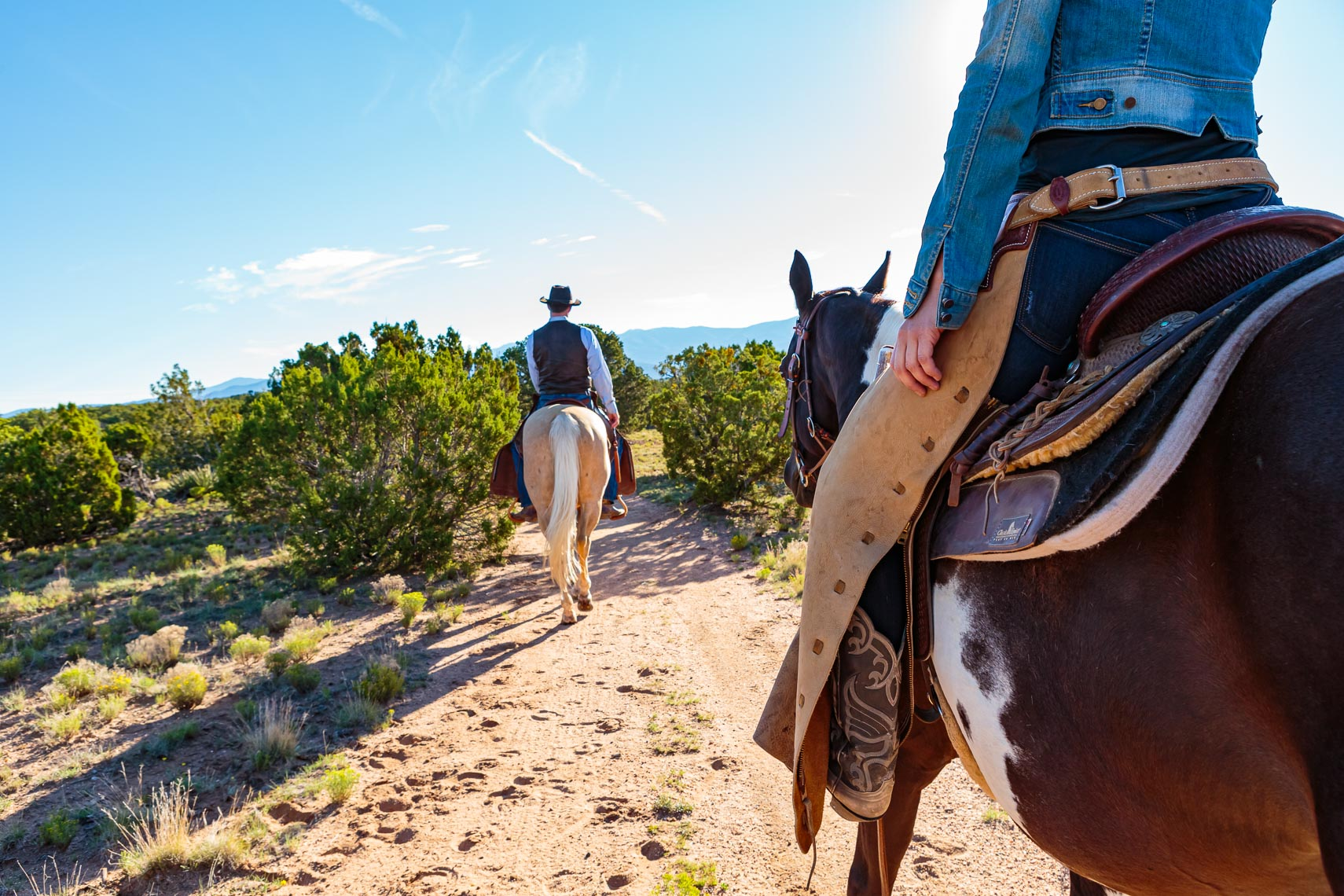 Couple Horse Ride Santa Fe New Mexico | Michael DeYoung