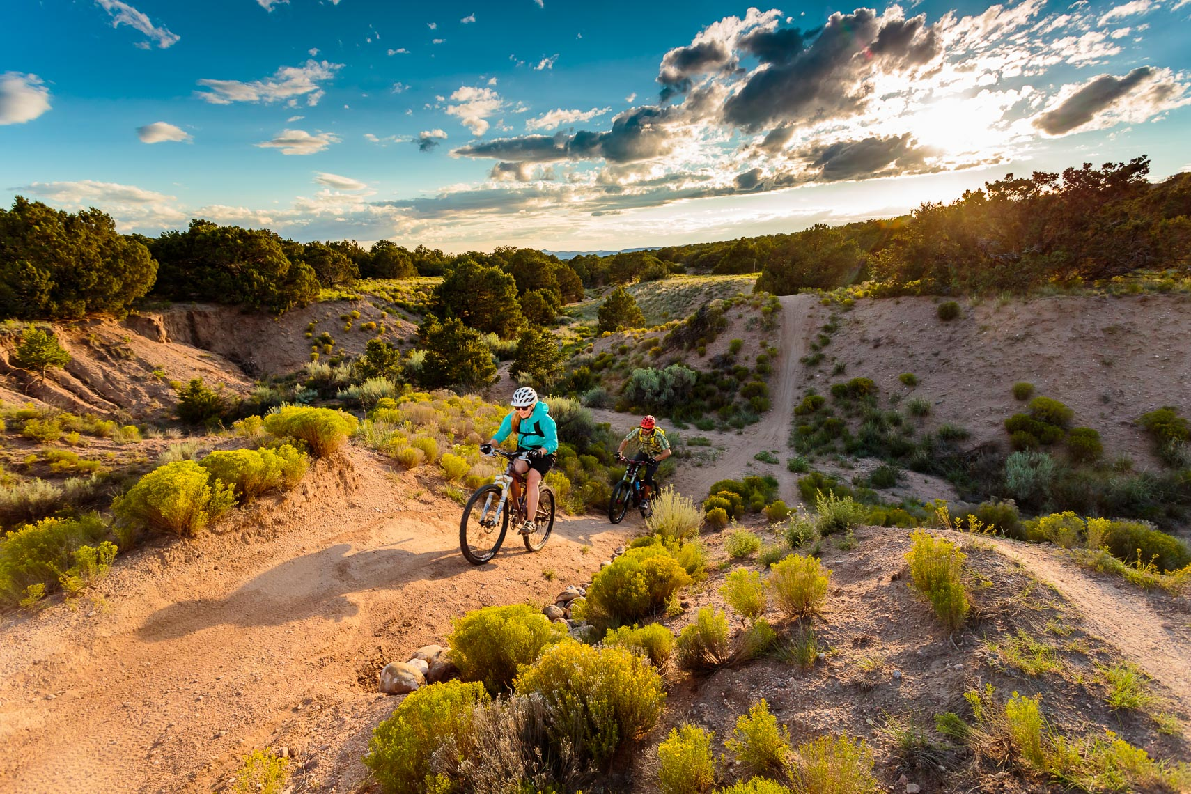 Photographer in Taos New Mexico Michael DeYoung | Mountain Biking