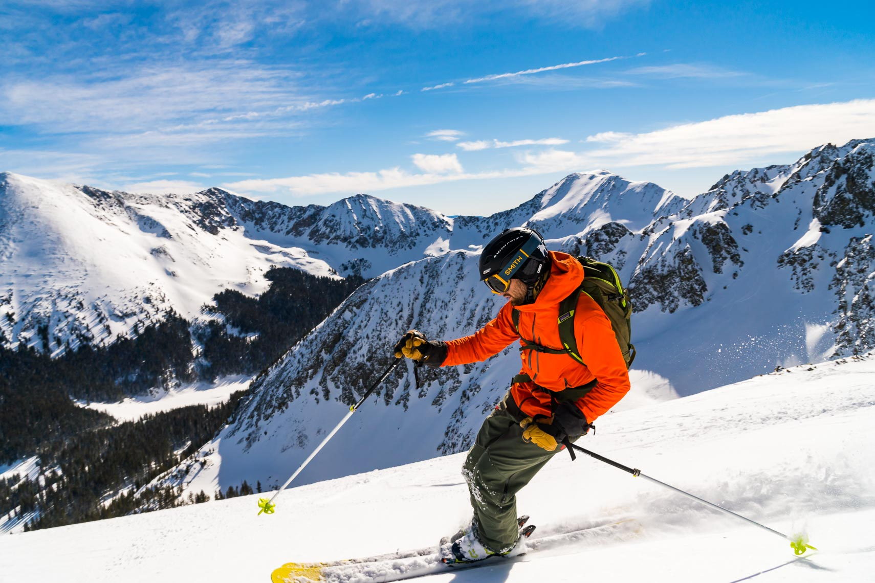 New Mexico Backcountry Ski | Photographer Michael DeYoung