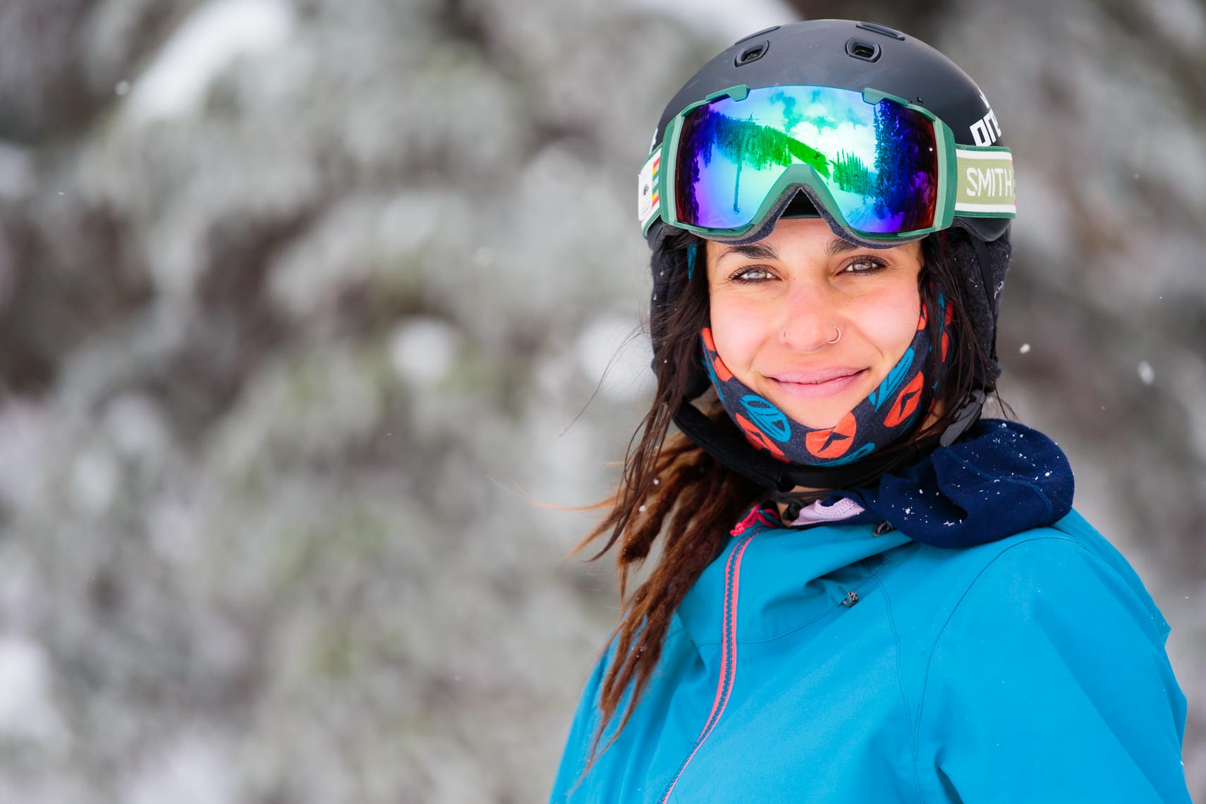 Female Skier Portrait New Mexico | Michael DeYoung