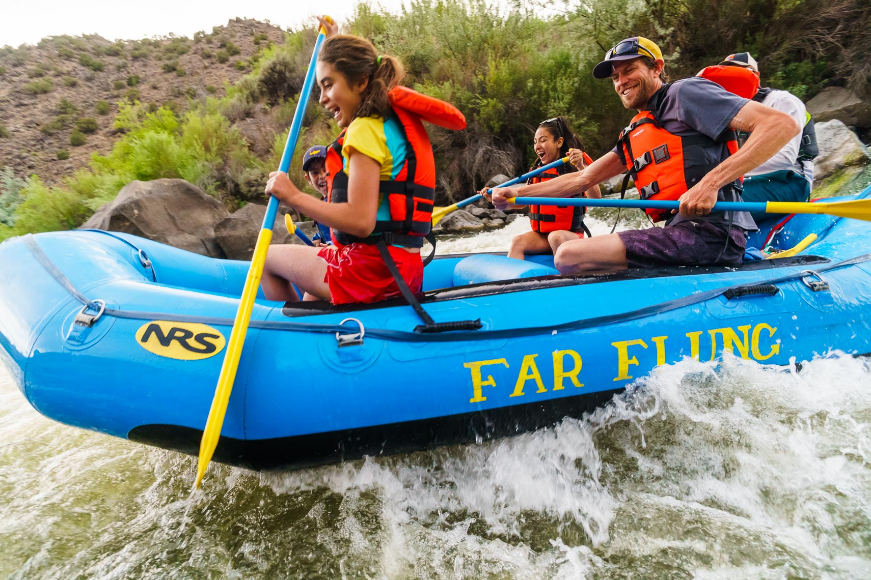 Family Vacation in Taos Whitewater Rafting | Michael DeYoung