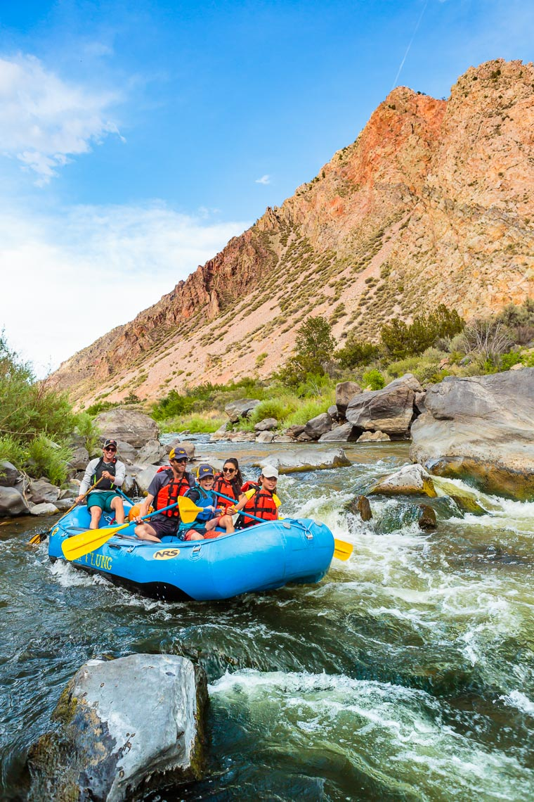 Family Whitewater Rafting in New Mexico | MIchael DeYoung