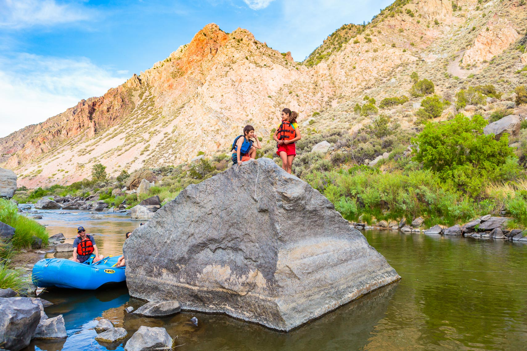 Family Rafting Rio Grande Taos New Mexico | Michael DeYoung