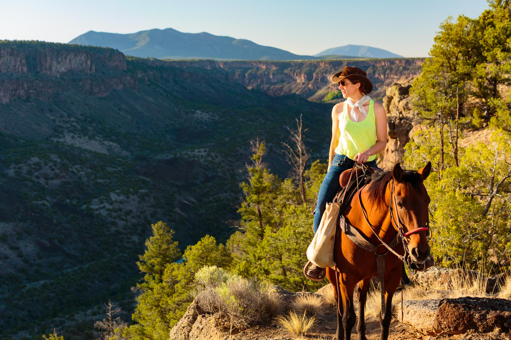 Visit Taos Guided Horseback Ride Photographer Michael DeYoung